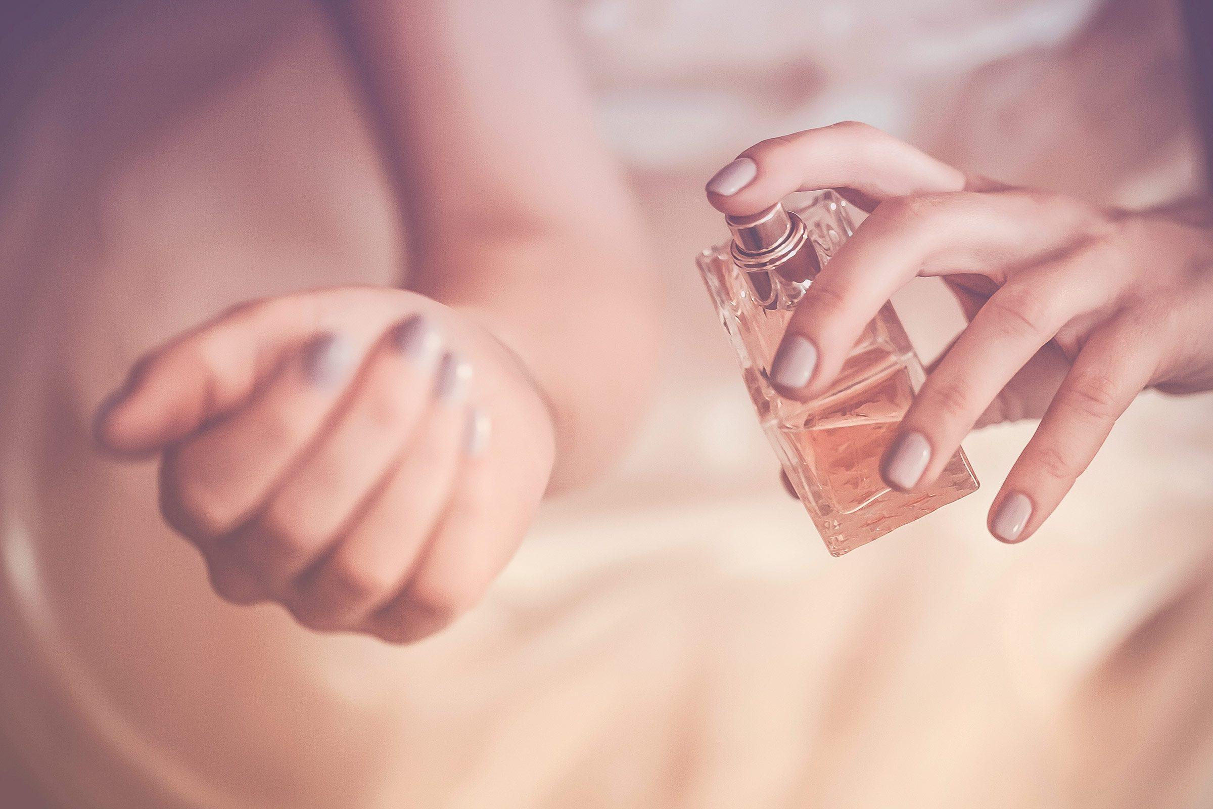 Overdoing the perfume: harmful.