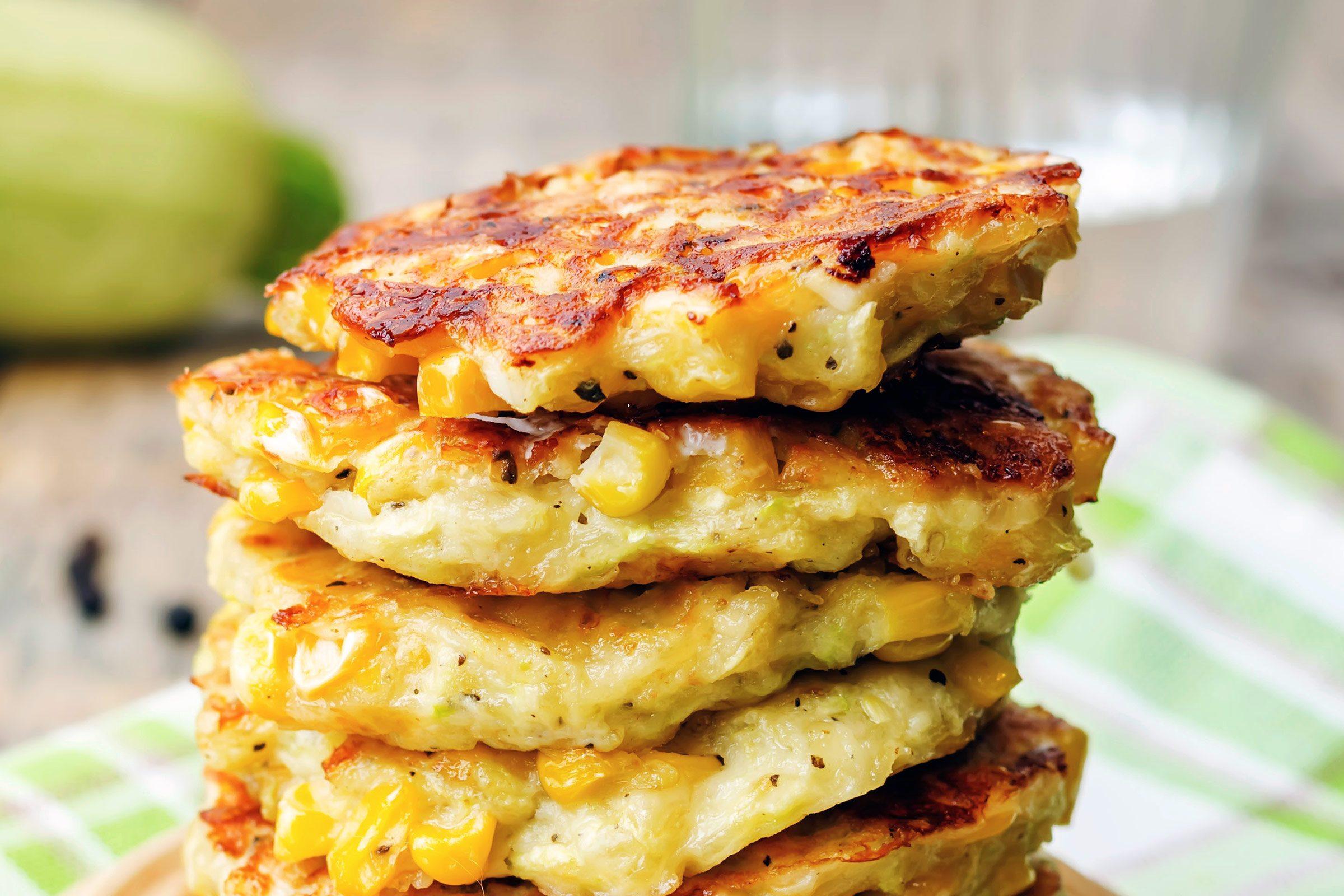 Corn Cake Pancakes