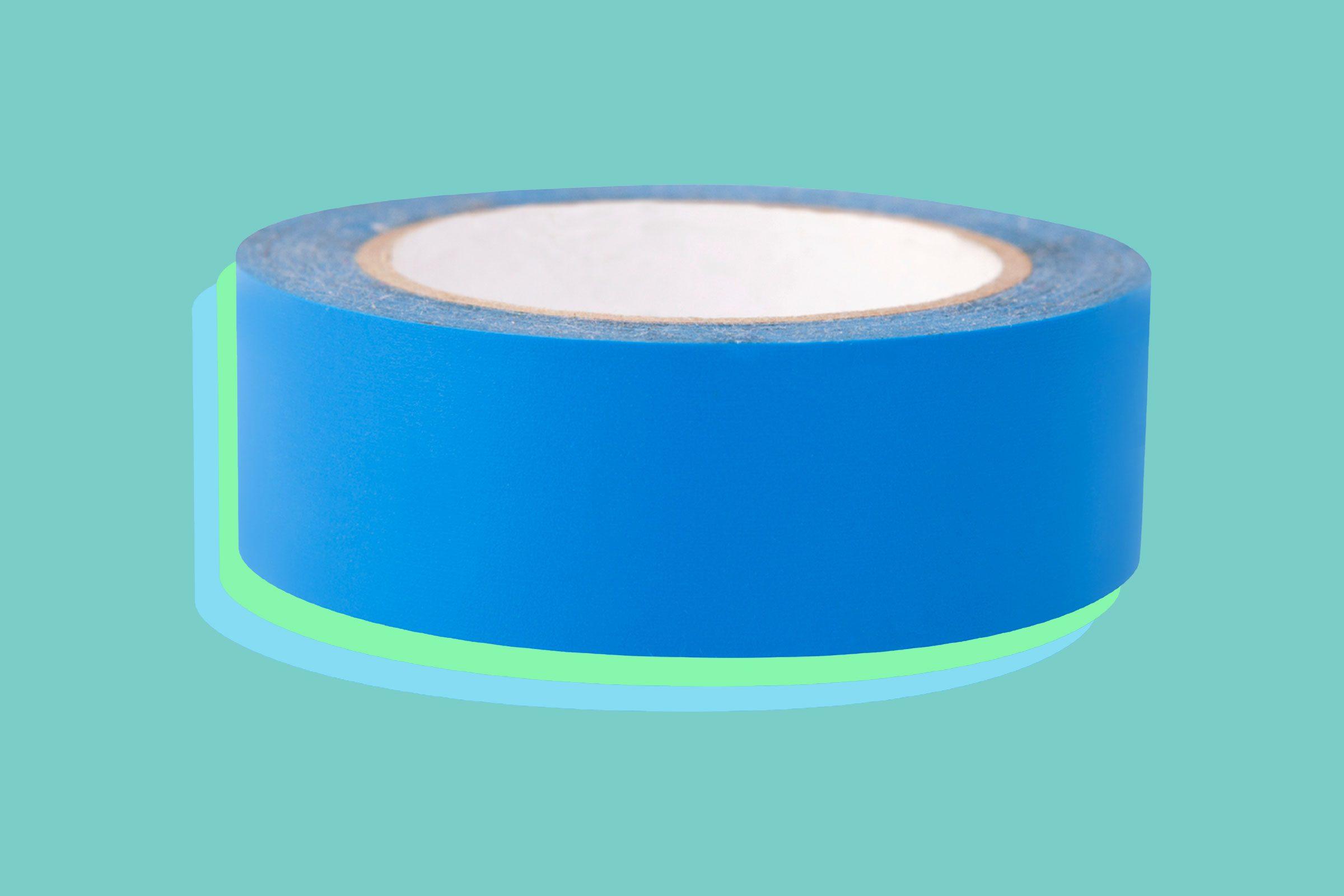 Use adhesive tape to remove a splinter