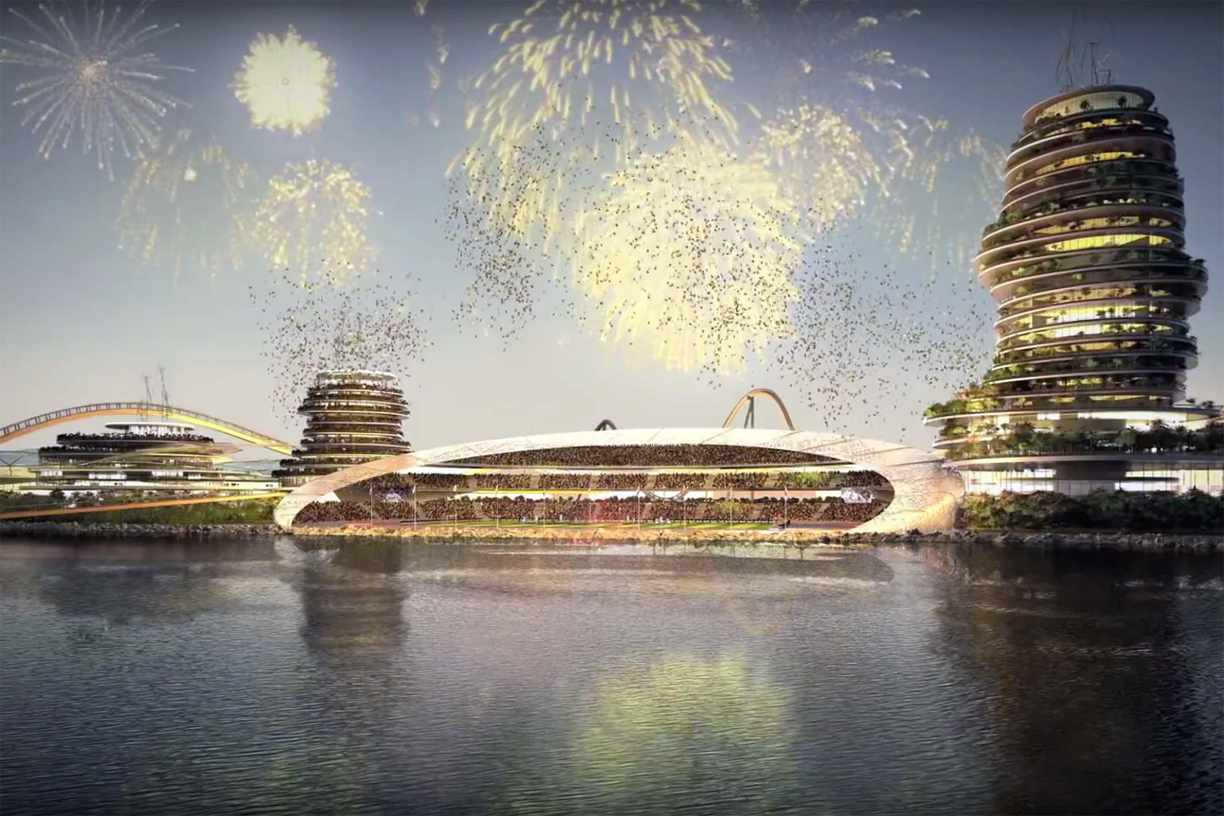 Real Madrid Island Resort. Price Tag: $1 Billion