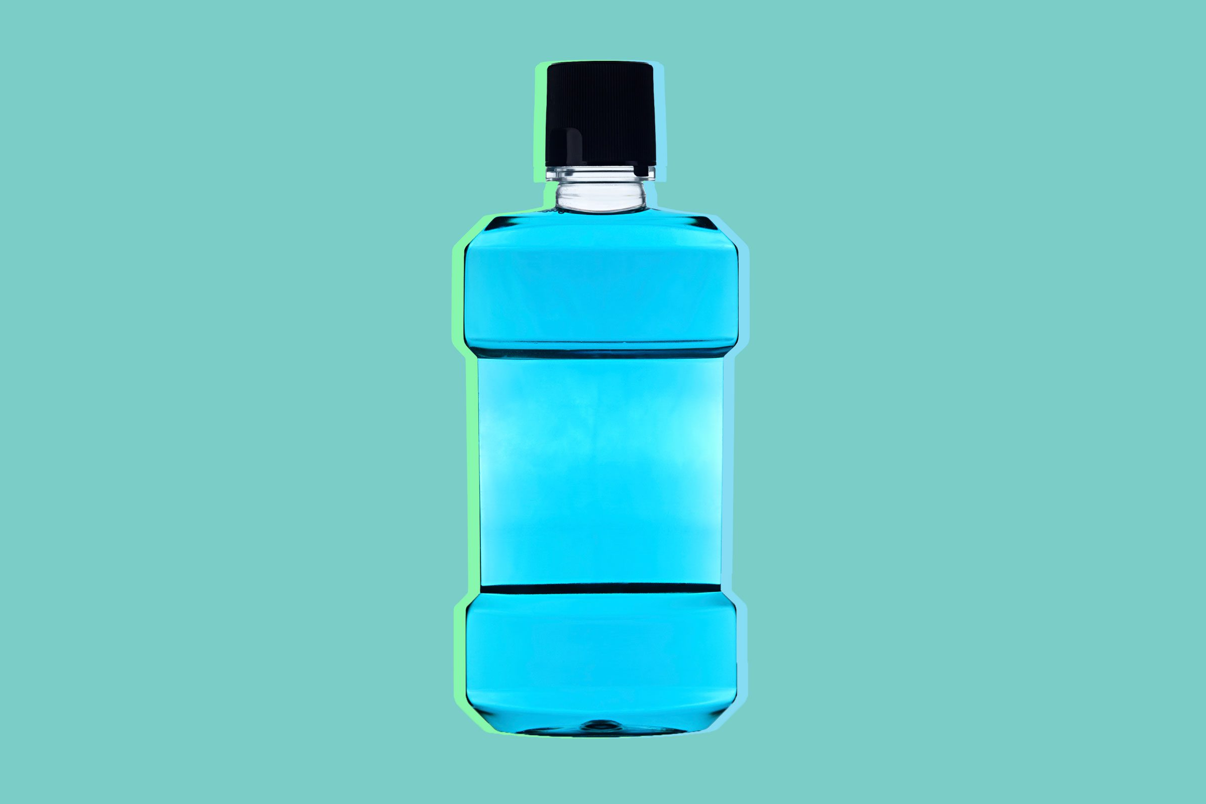 Use mouthwash to treat athlete's foot