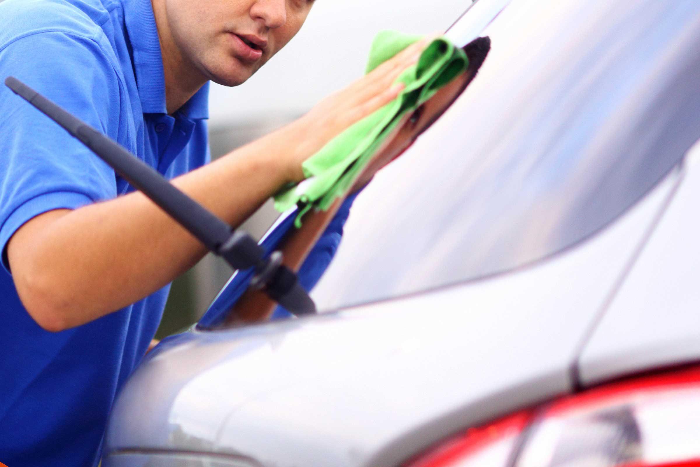 Cooking spray de-bugs your car