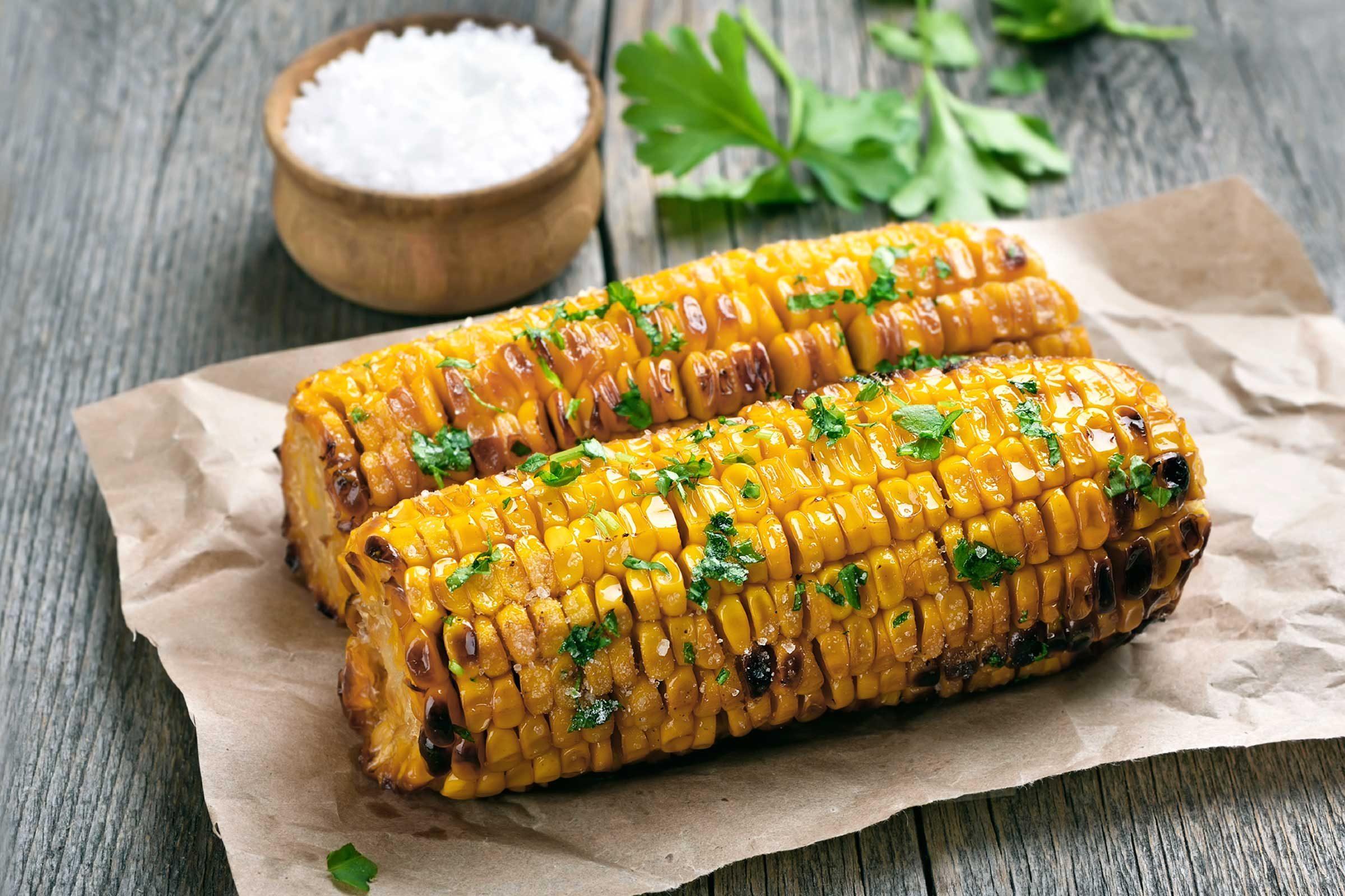 Milk boosts corn on the cob flavor