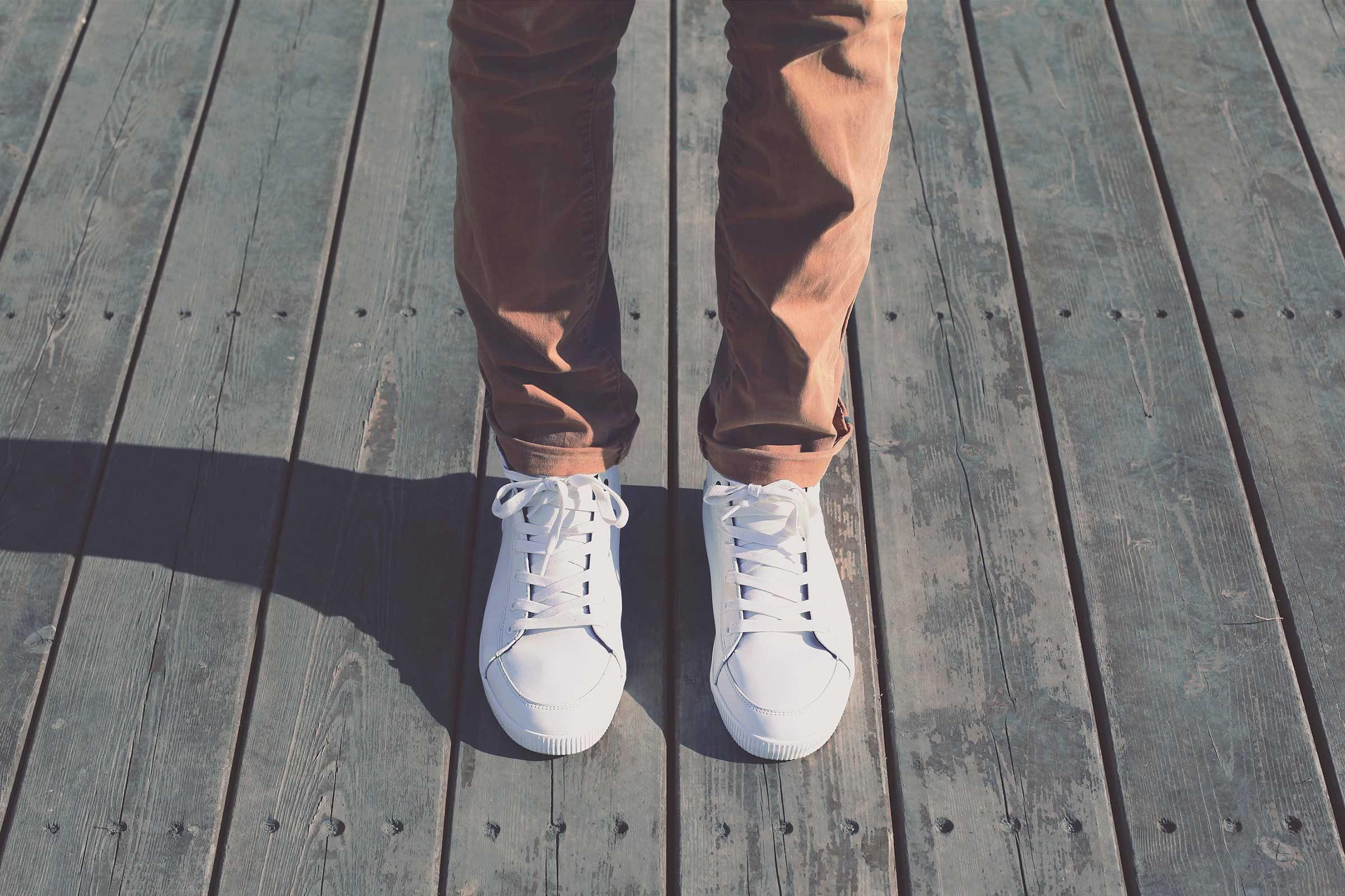 Salt deodorizes sneakers