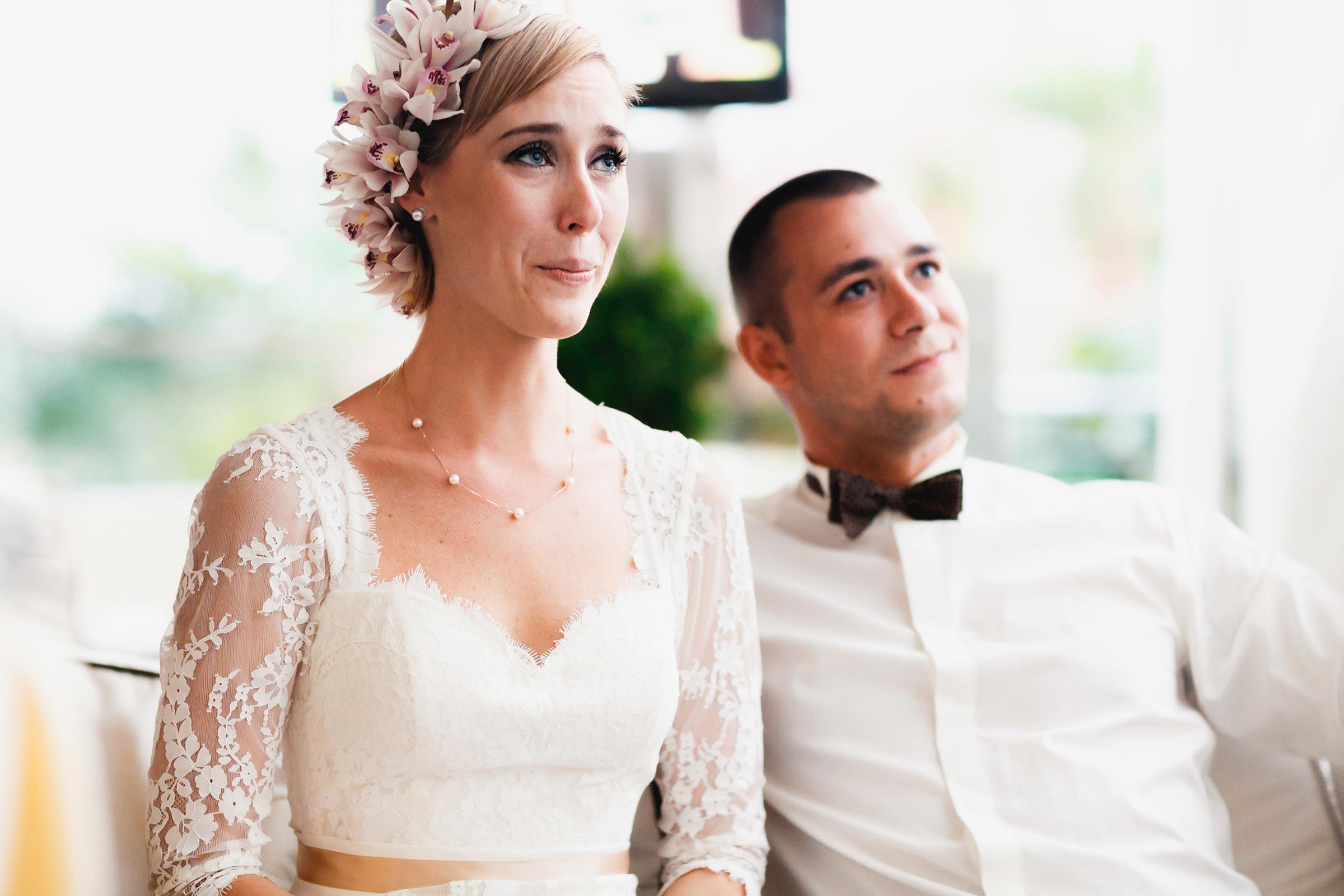 I still cry at weddings