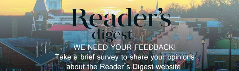Reader's Digest Survey