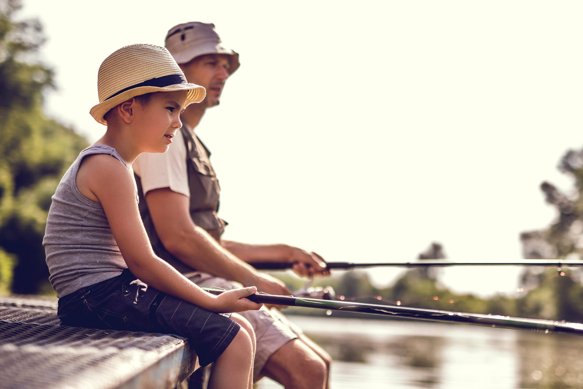 Father 39 s day activities 17 fun ideas dads love reader 39 s for Is tomorrow a good fishing day
