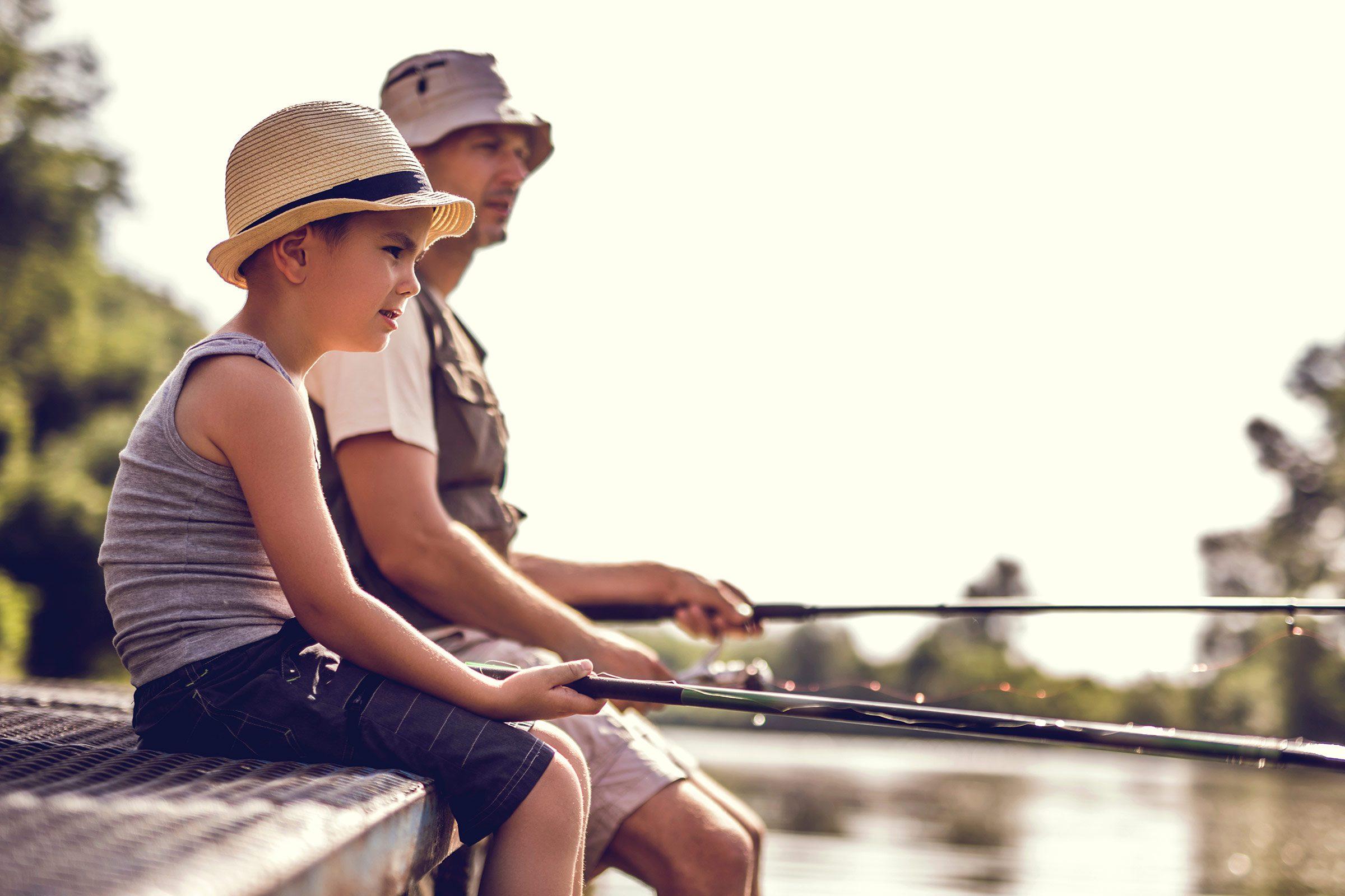 Fishing dad