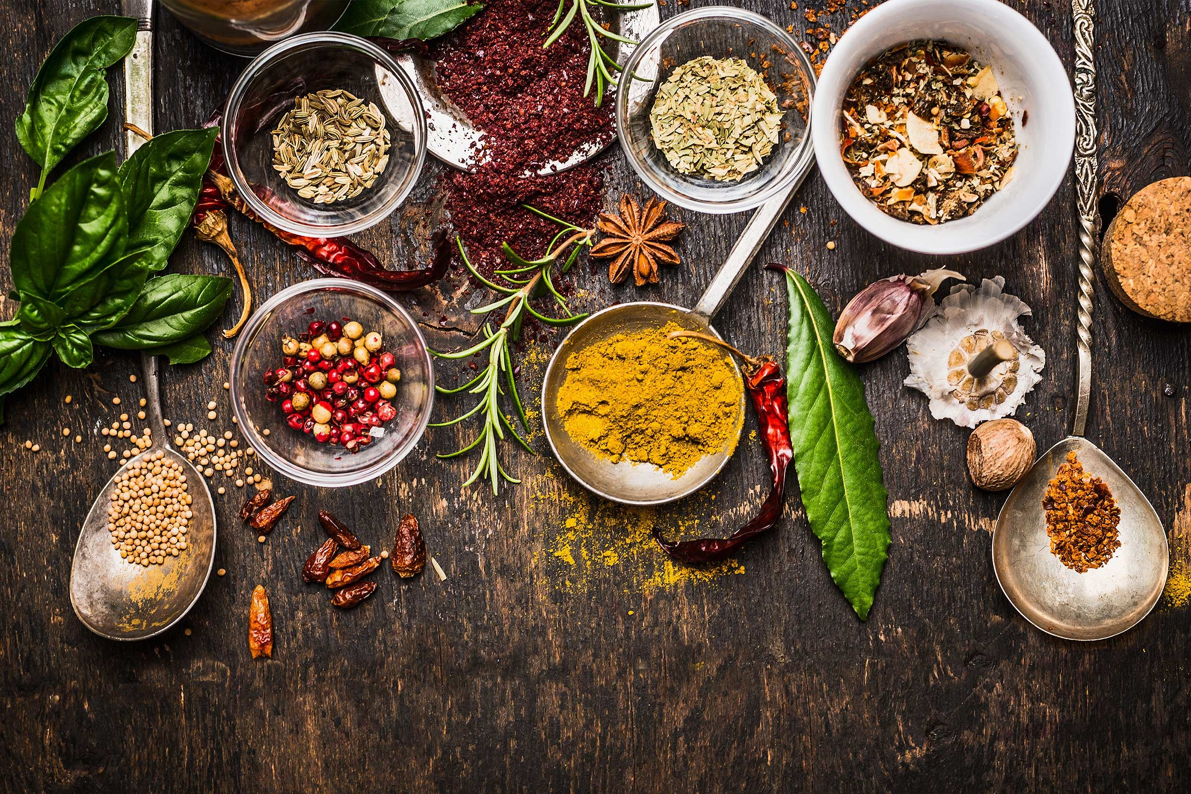 Seasonings have been used since Biblical times to perk up the flavor of food. What's new: research showing that some of them can enhance your health.