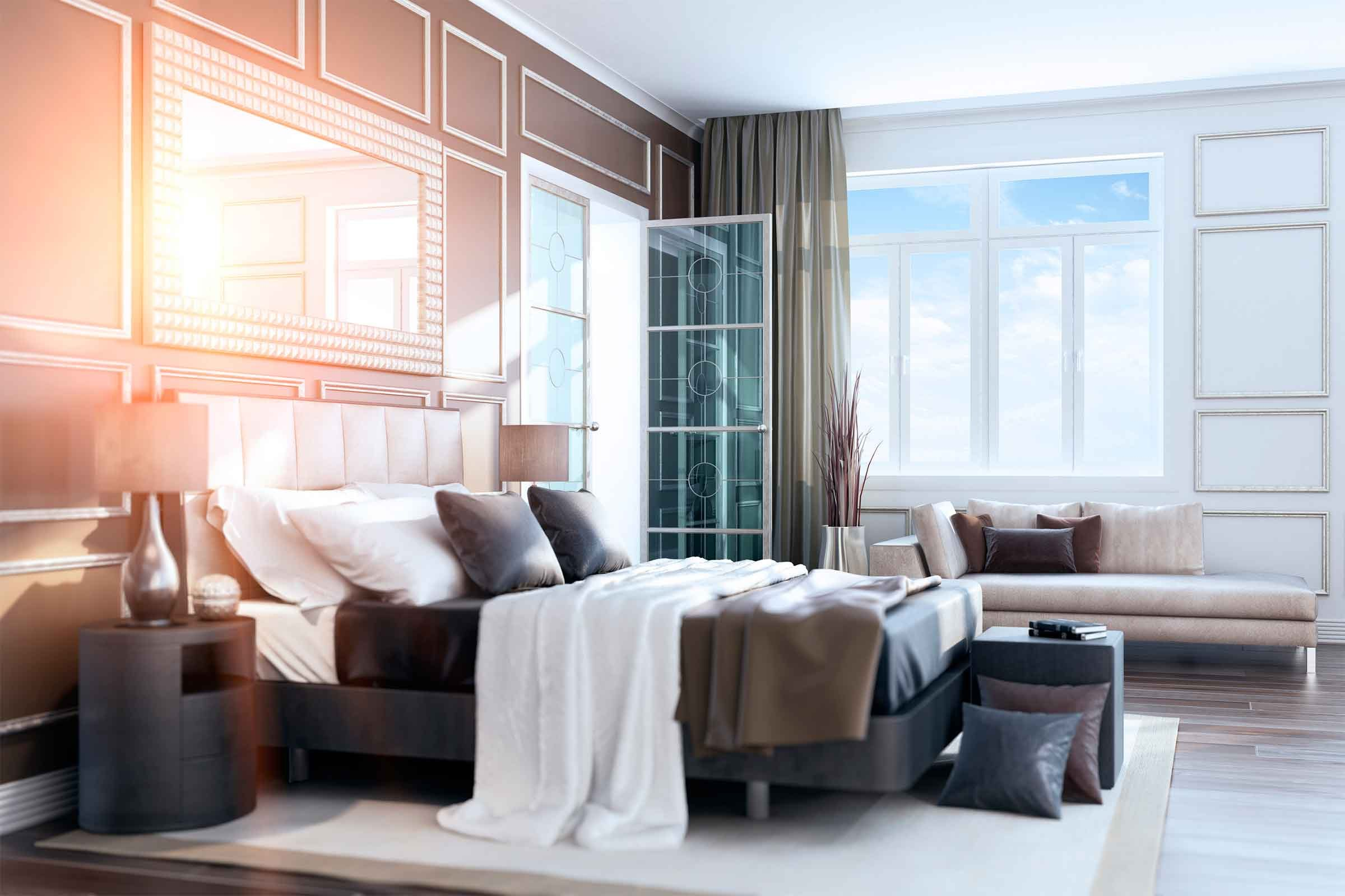 Decorating tips to copy from hotels in your home reader for Things to decorate bedroom
