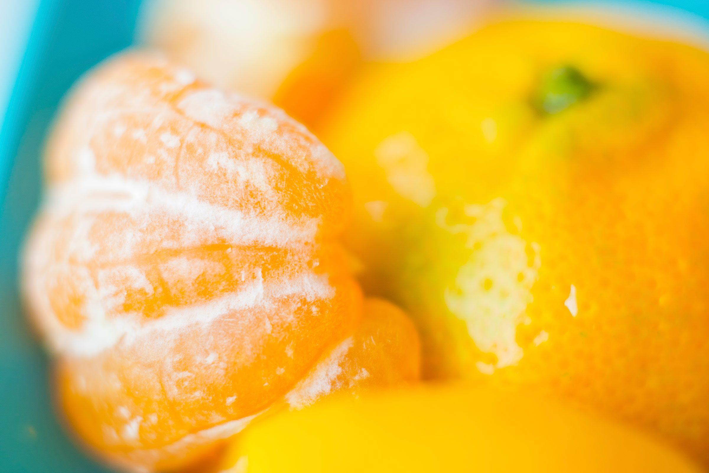Snack on citrus.