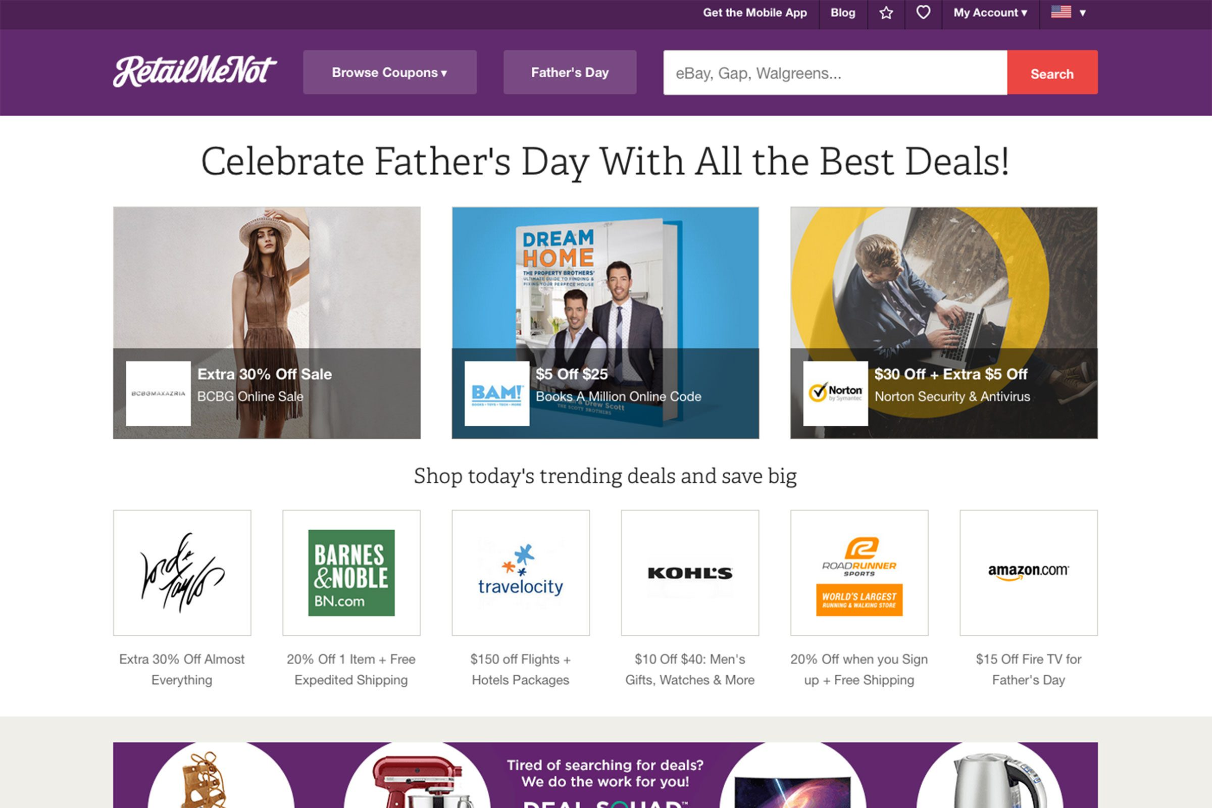 Millions of free coupons