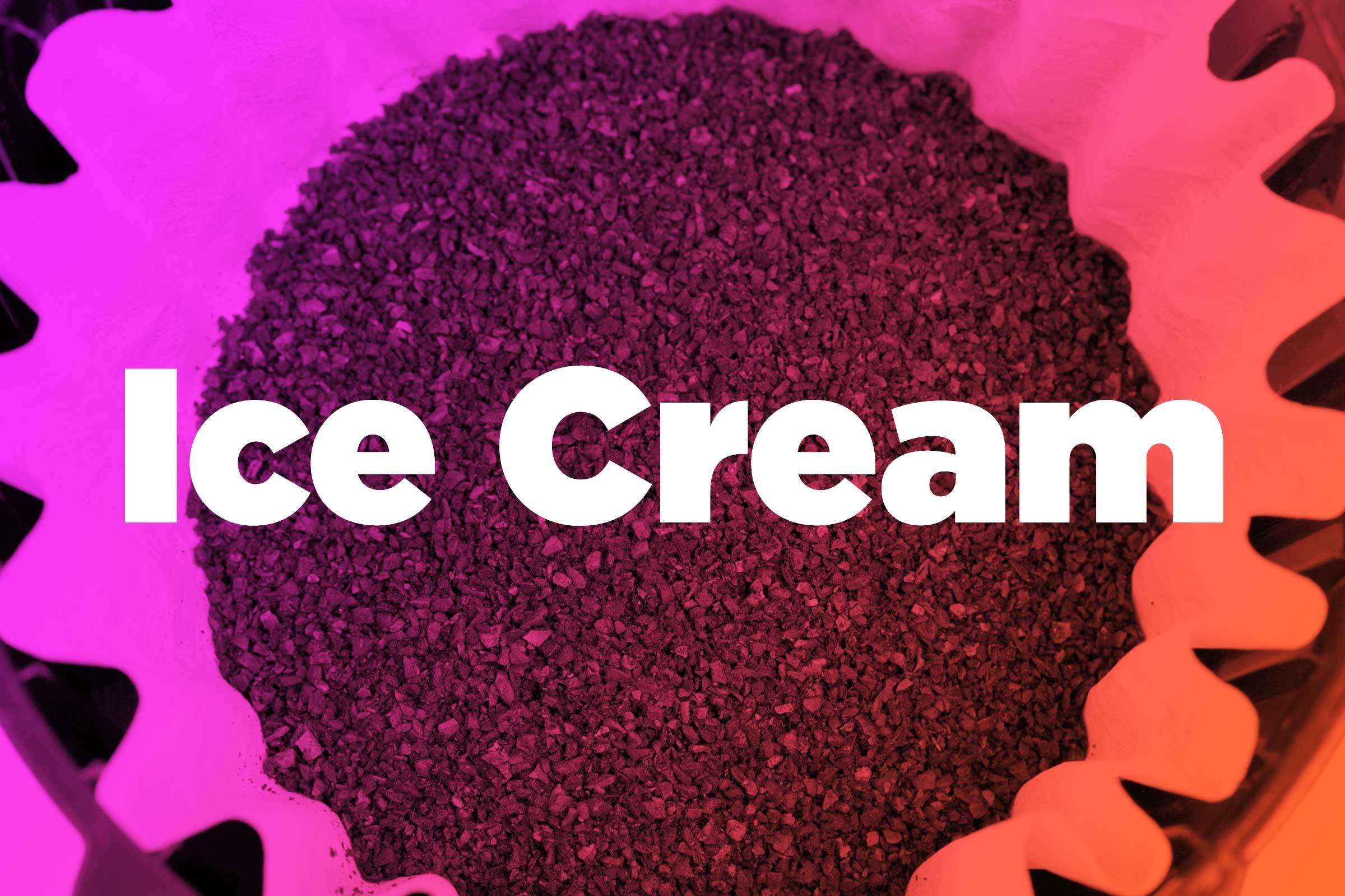 Catch ice-cream drips