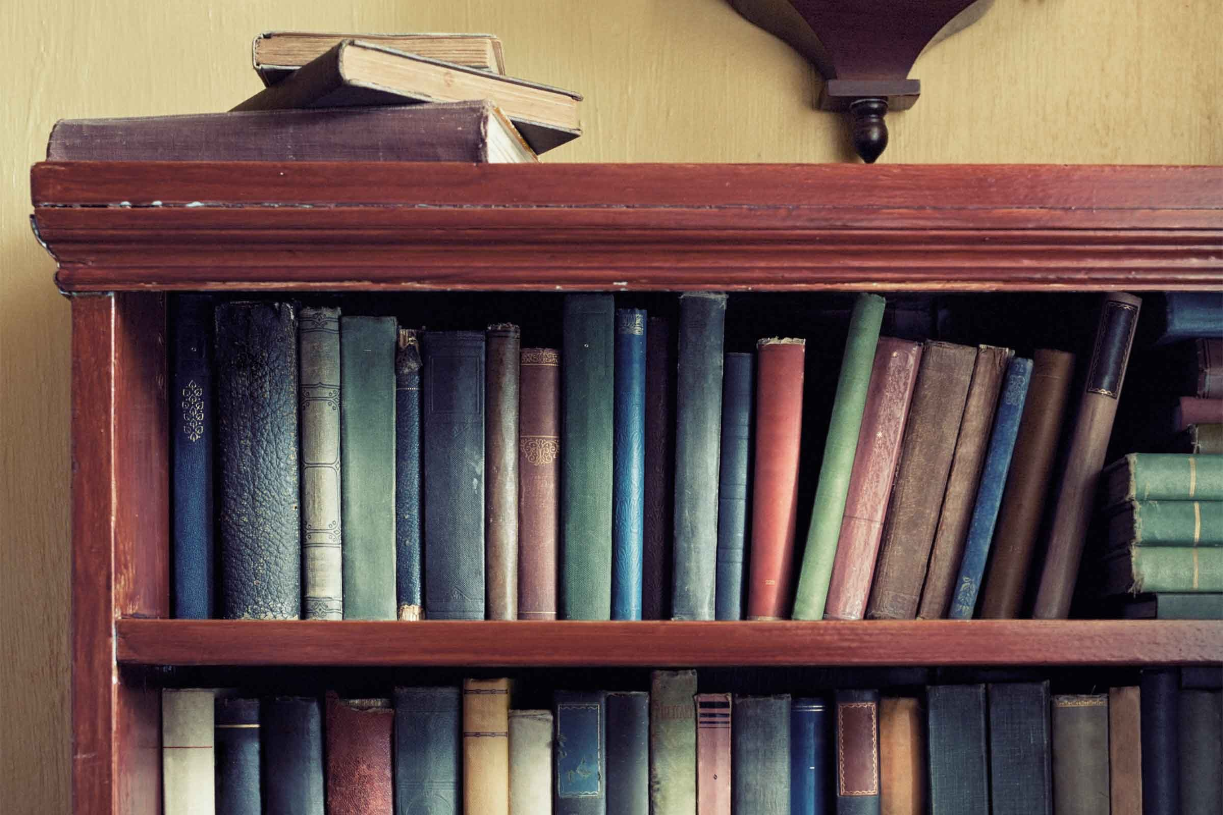 Pictures Of Bookshelves how to decorate a bookshelf: 8 expert tricks | reader's digest