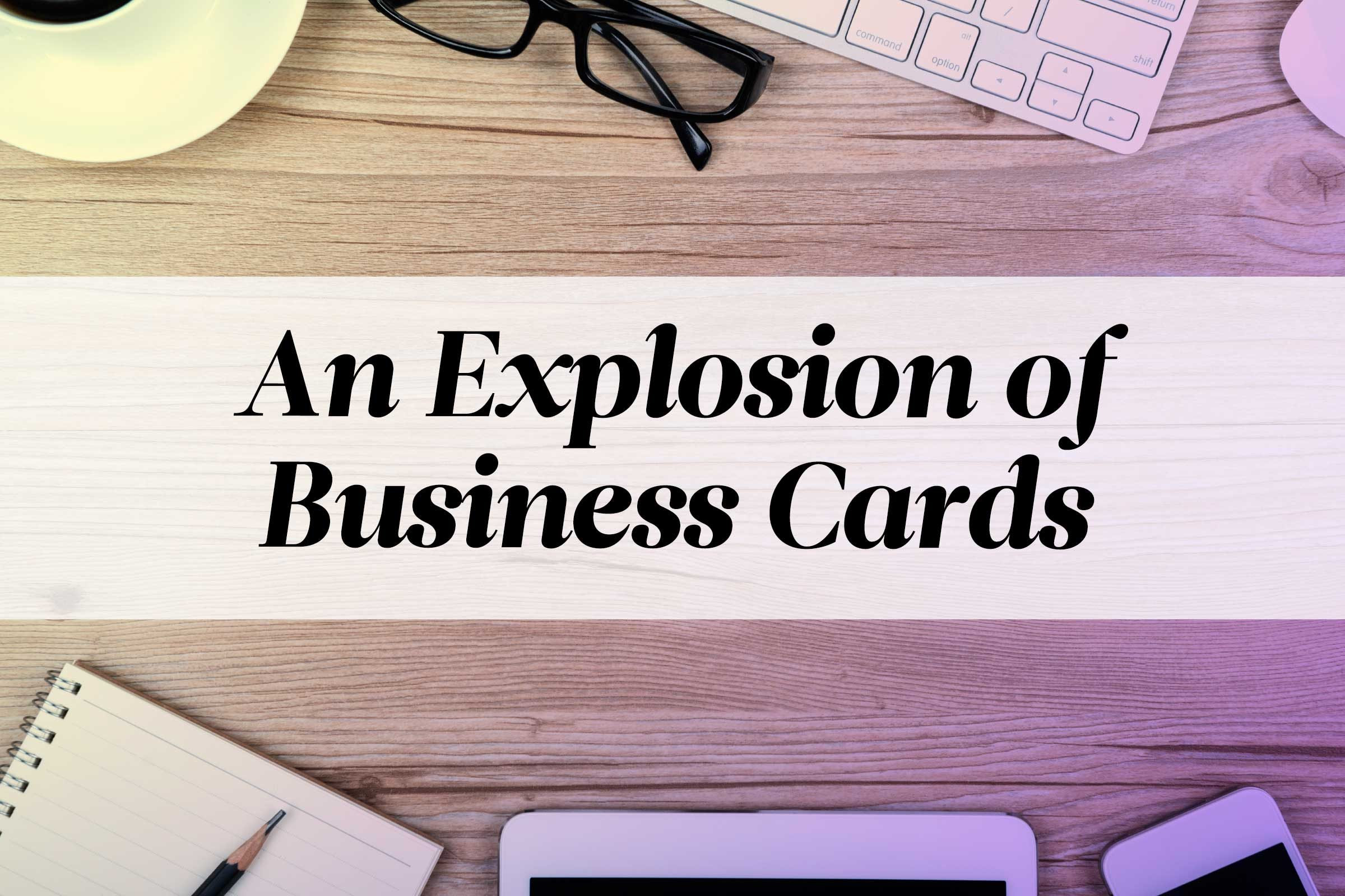 Funny pictures 141 clear desk policy - How To Organize Business Cards