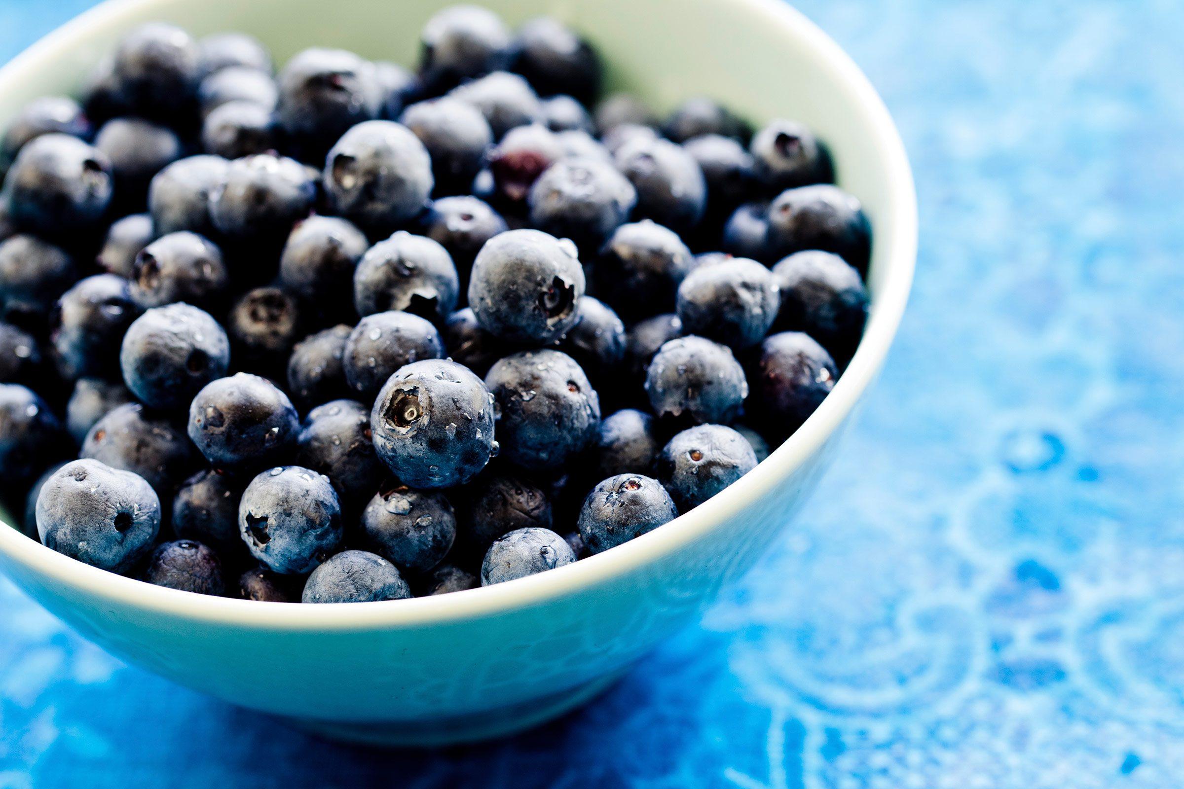 6. Strawberries or blueberries?