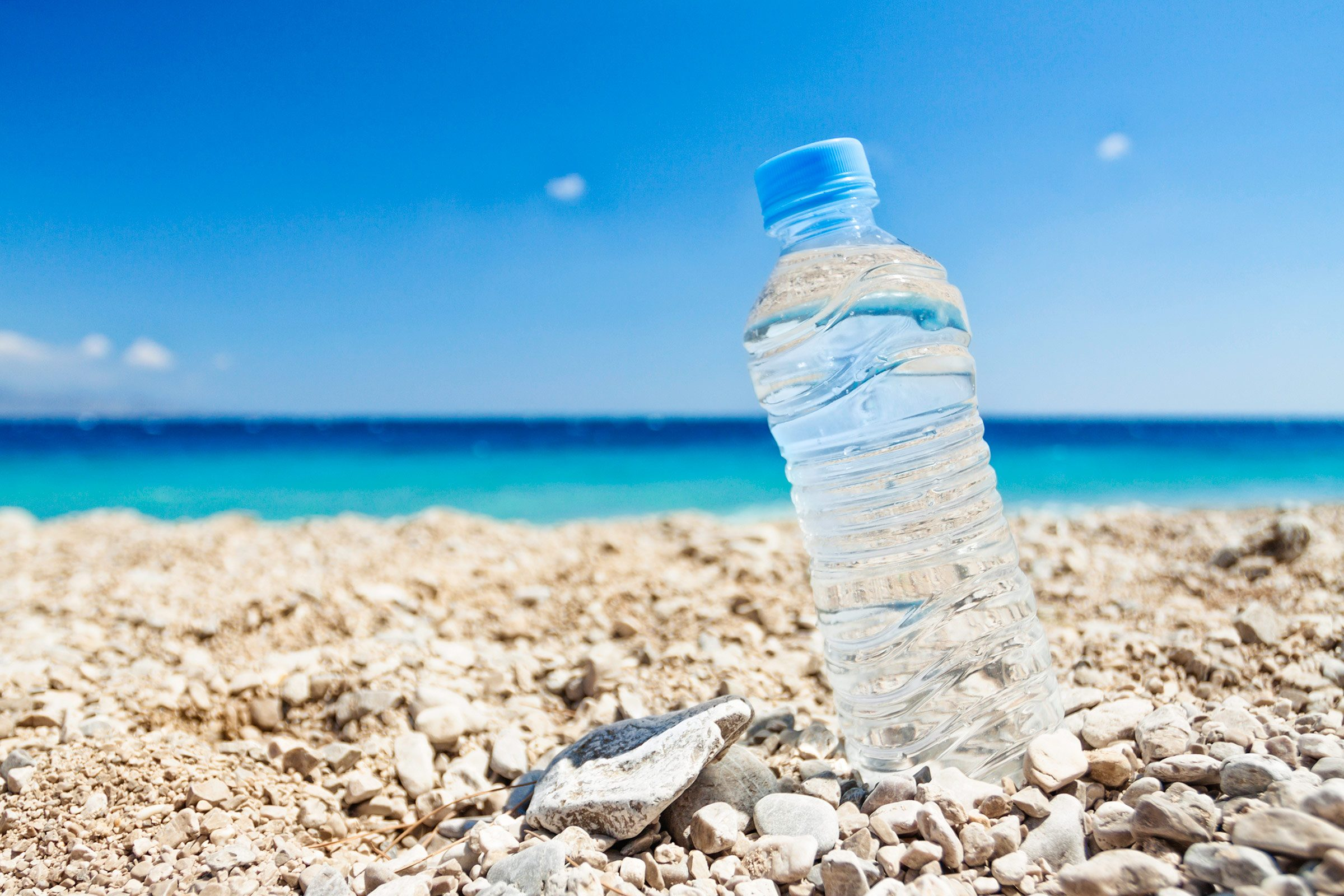 6. Take along bottles of partially frozen water.