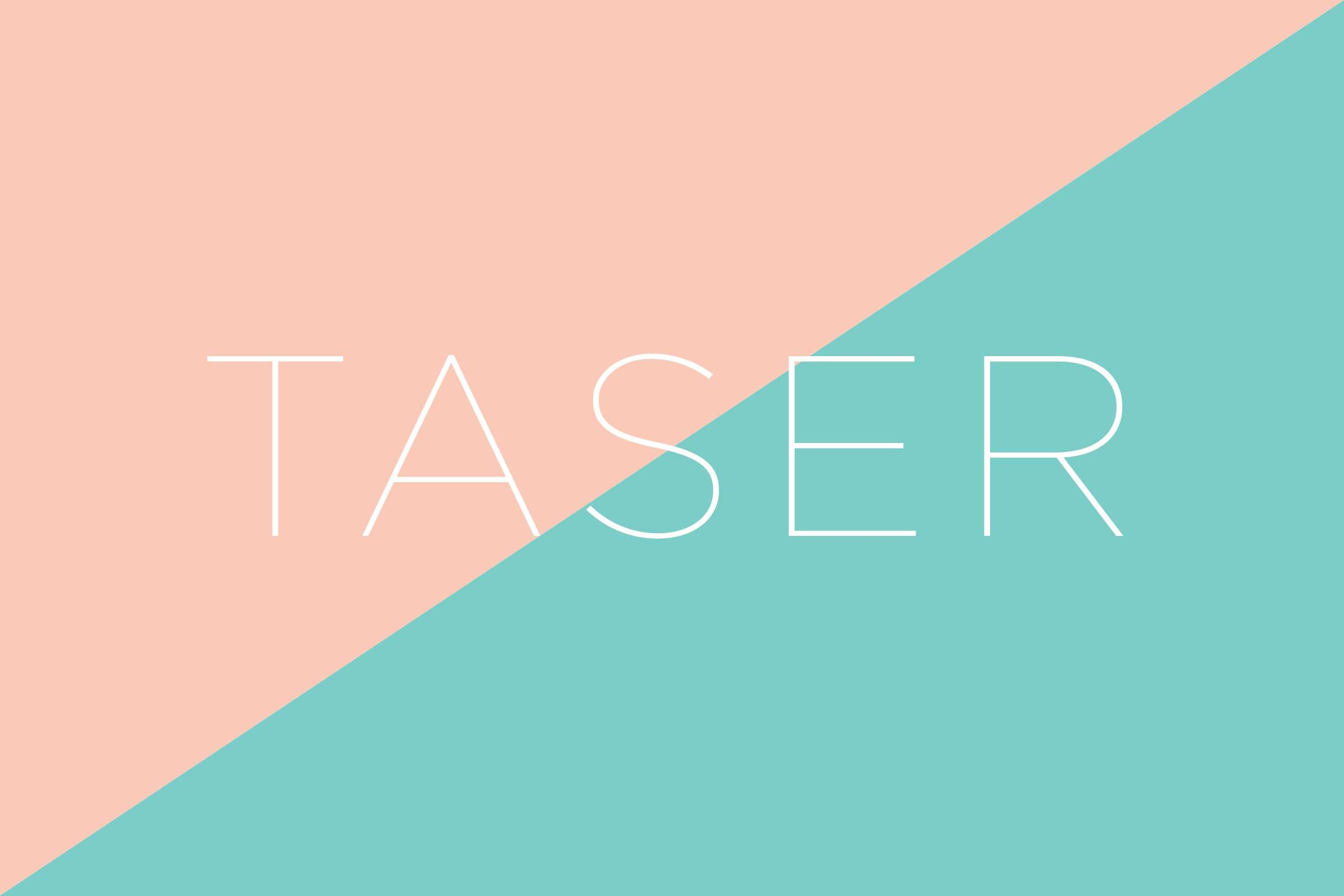 What does TASER stand for?
