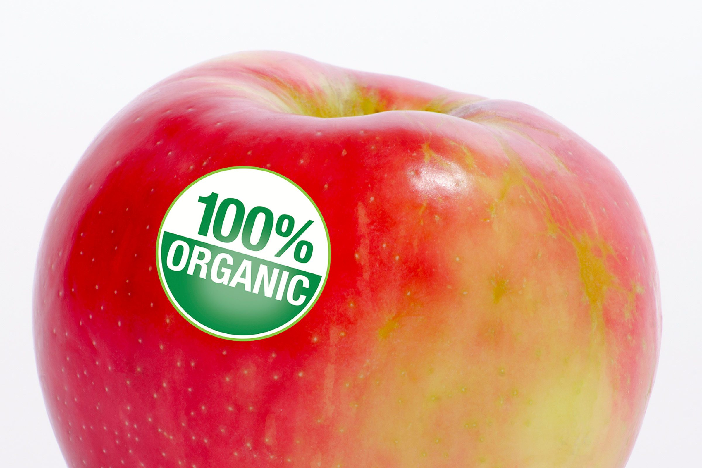 """Organic"" doesn't mean 100% organic."