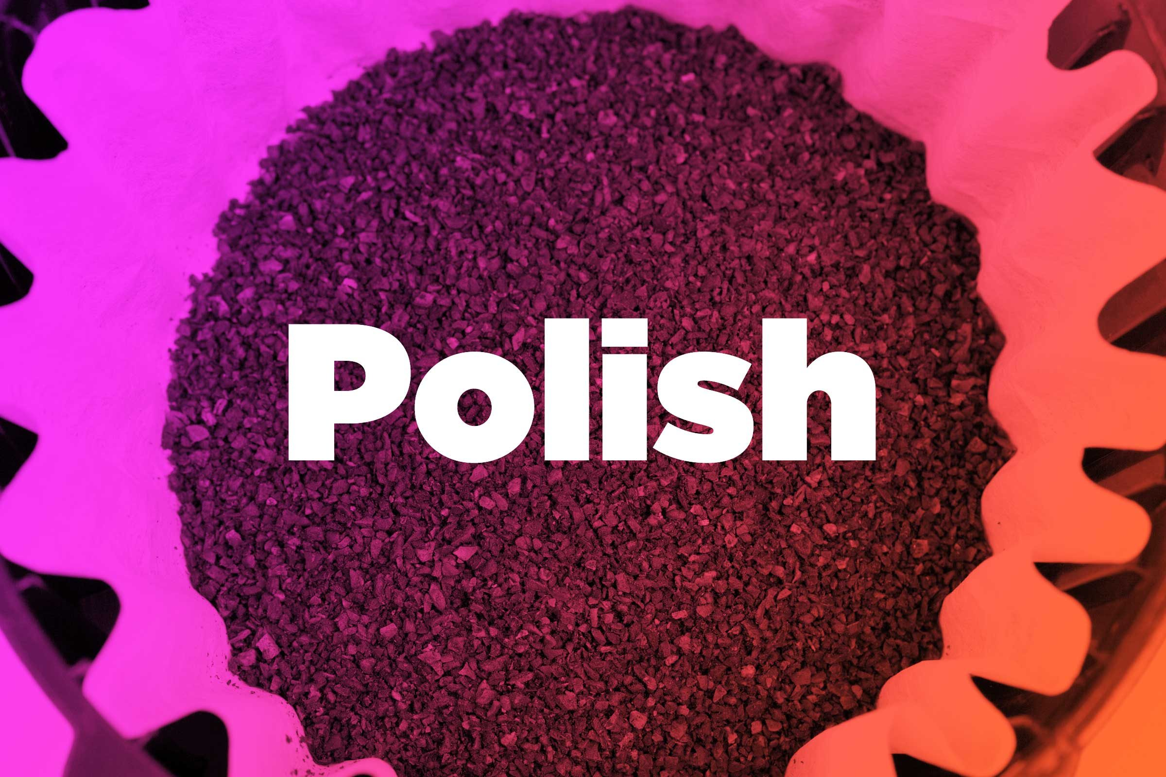 Polish without  a mess