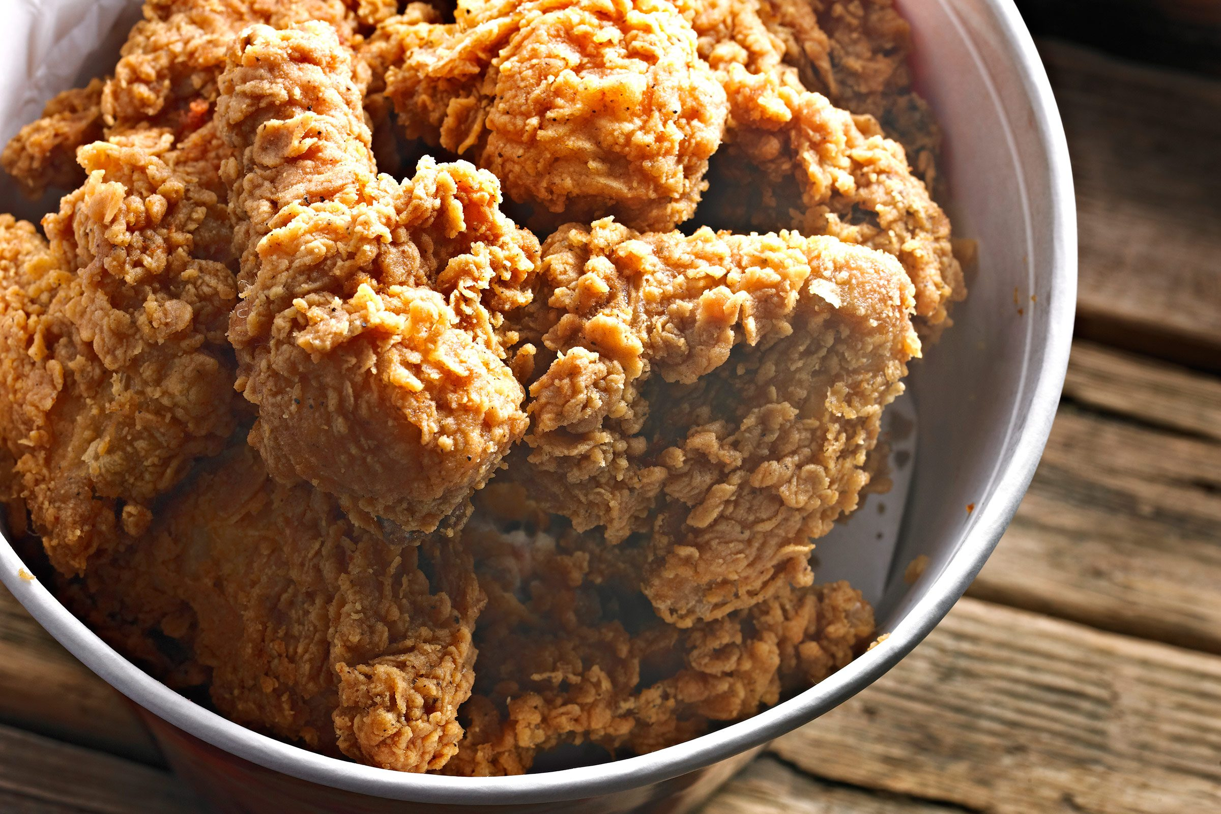 Please don't ask what ingredients are in our fried chicken coating or in our special sauce.