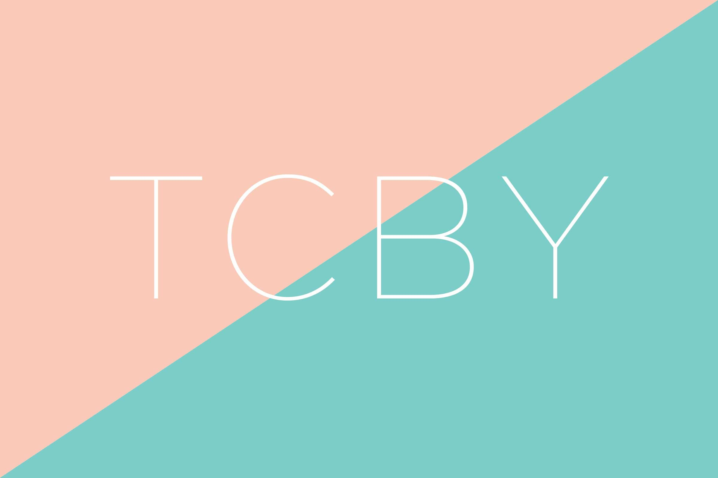 What does TCBY stand for?