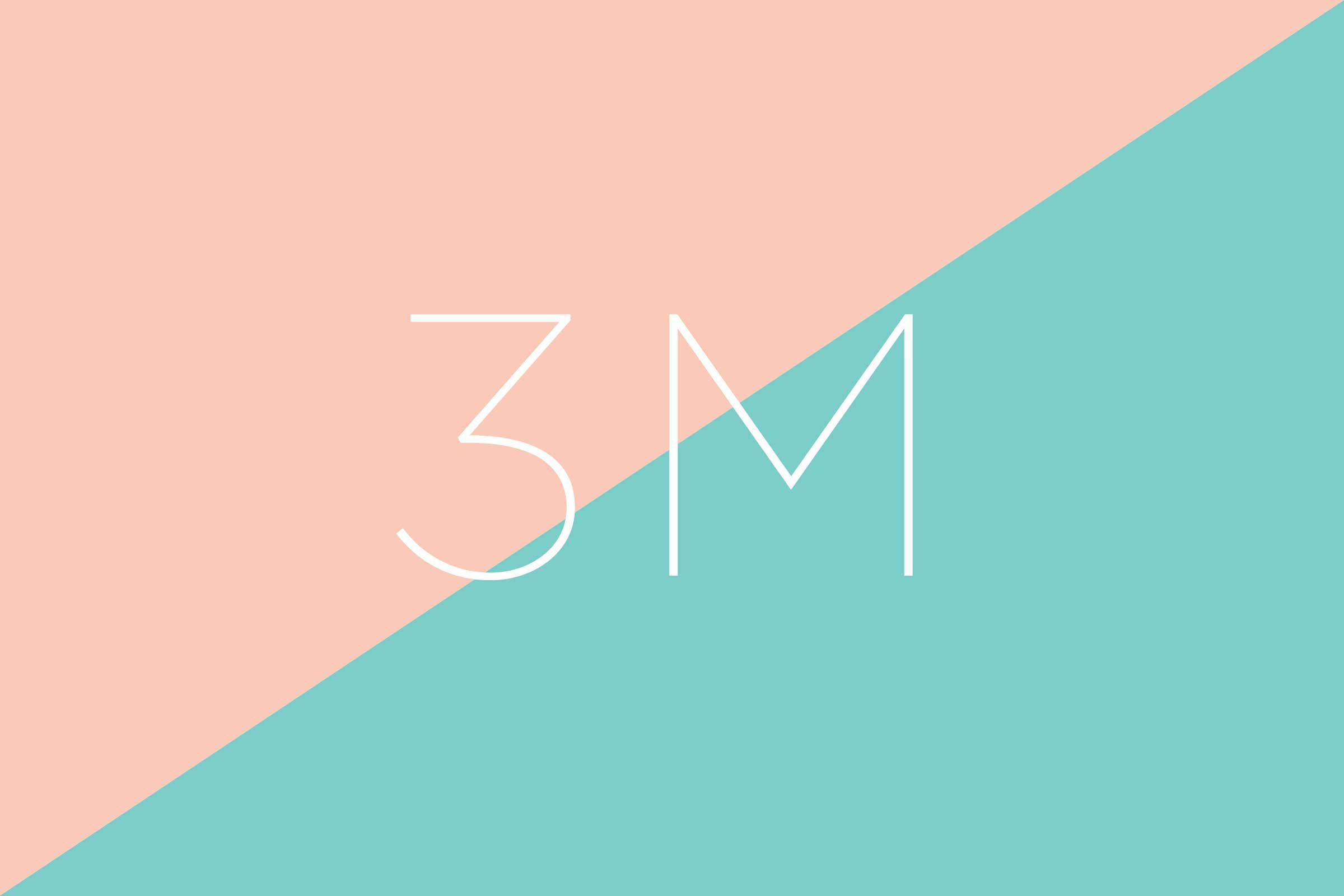 What does 3M stand for?