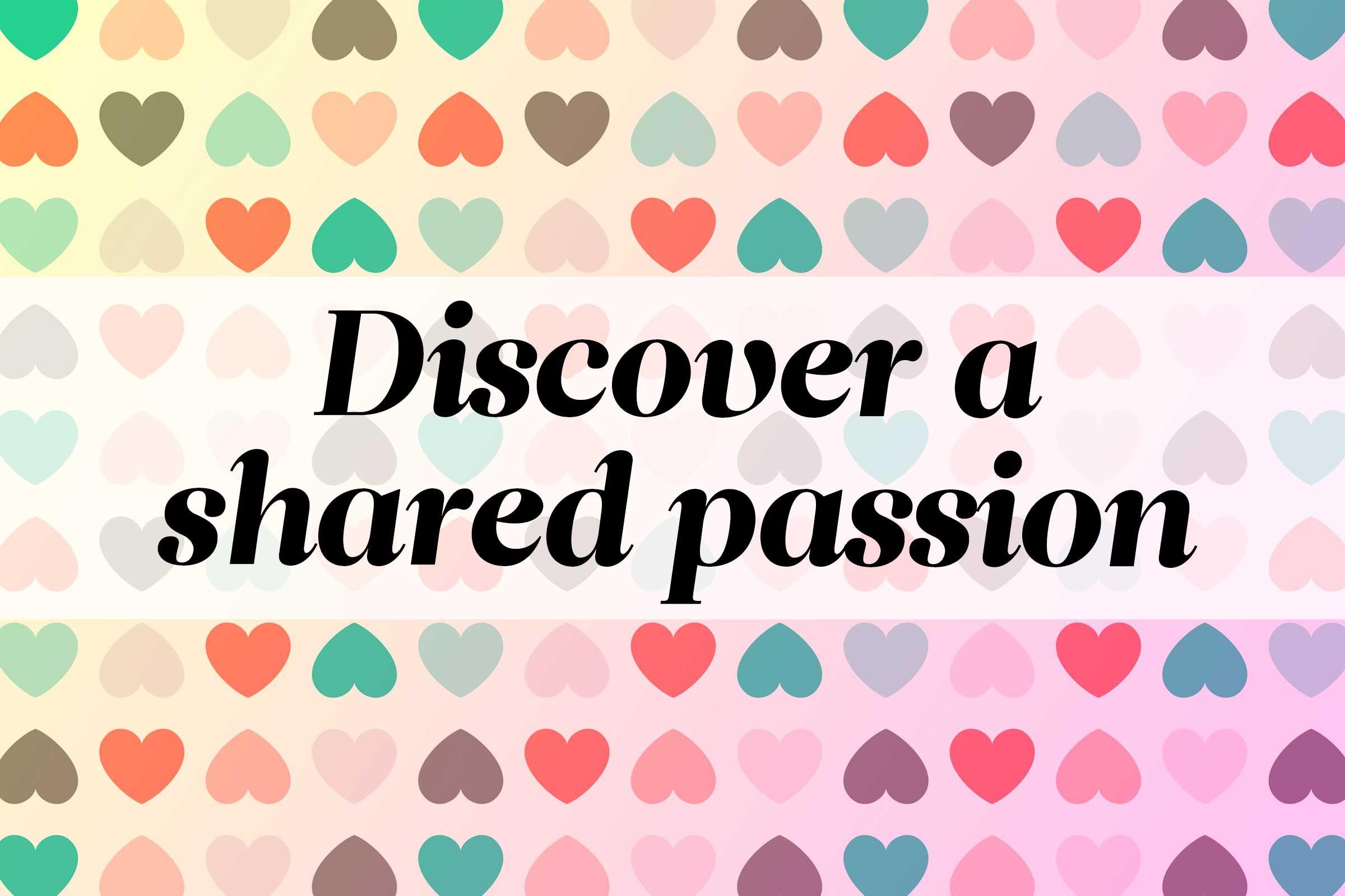 Share a hobby