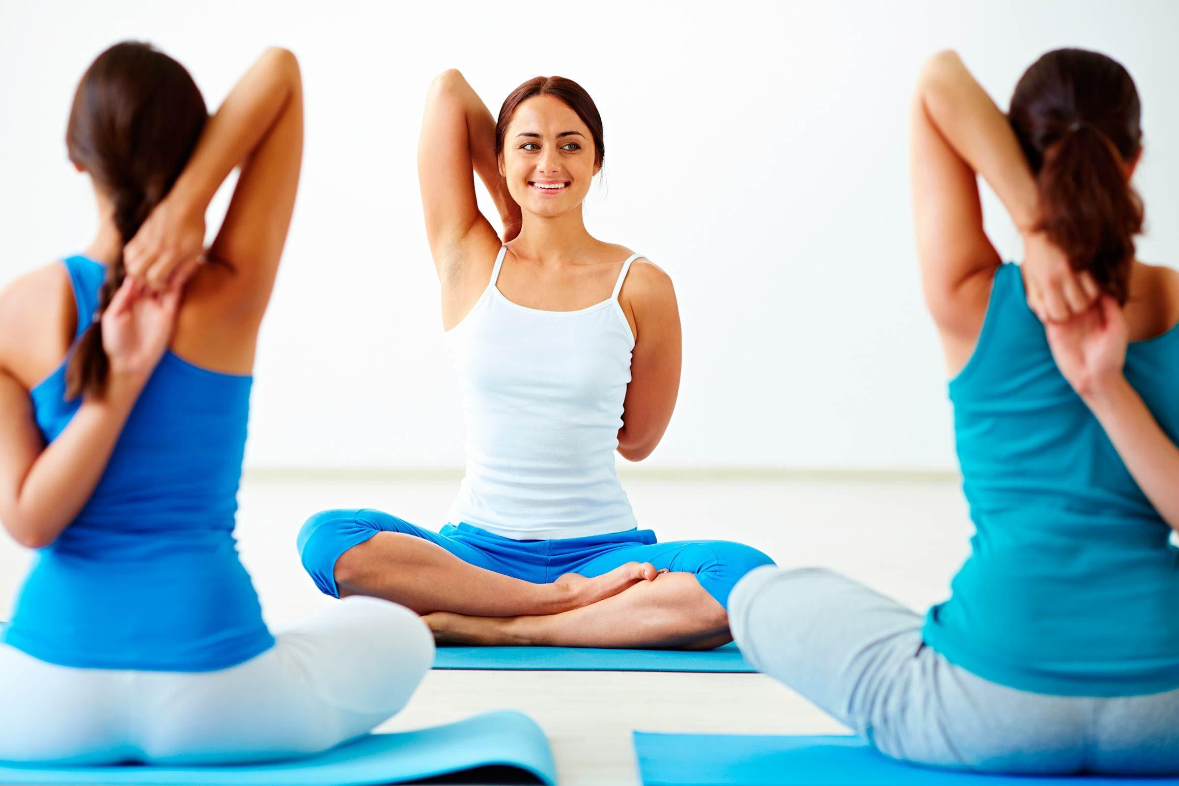 I love teaching yoga ...