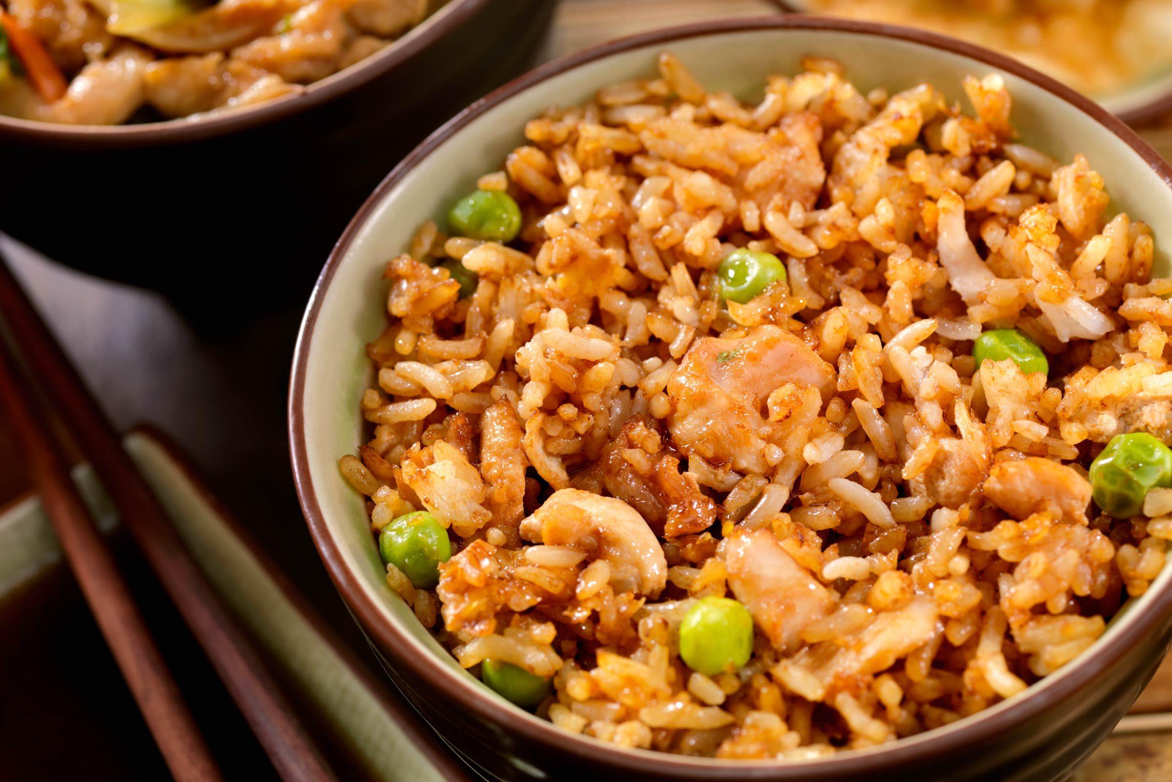 Make homemade fried rice