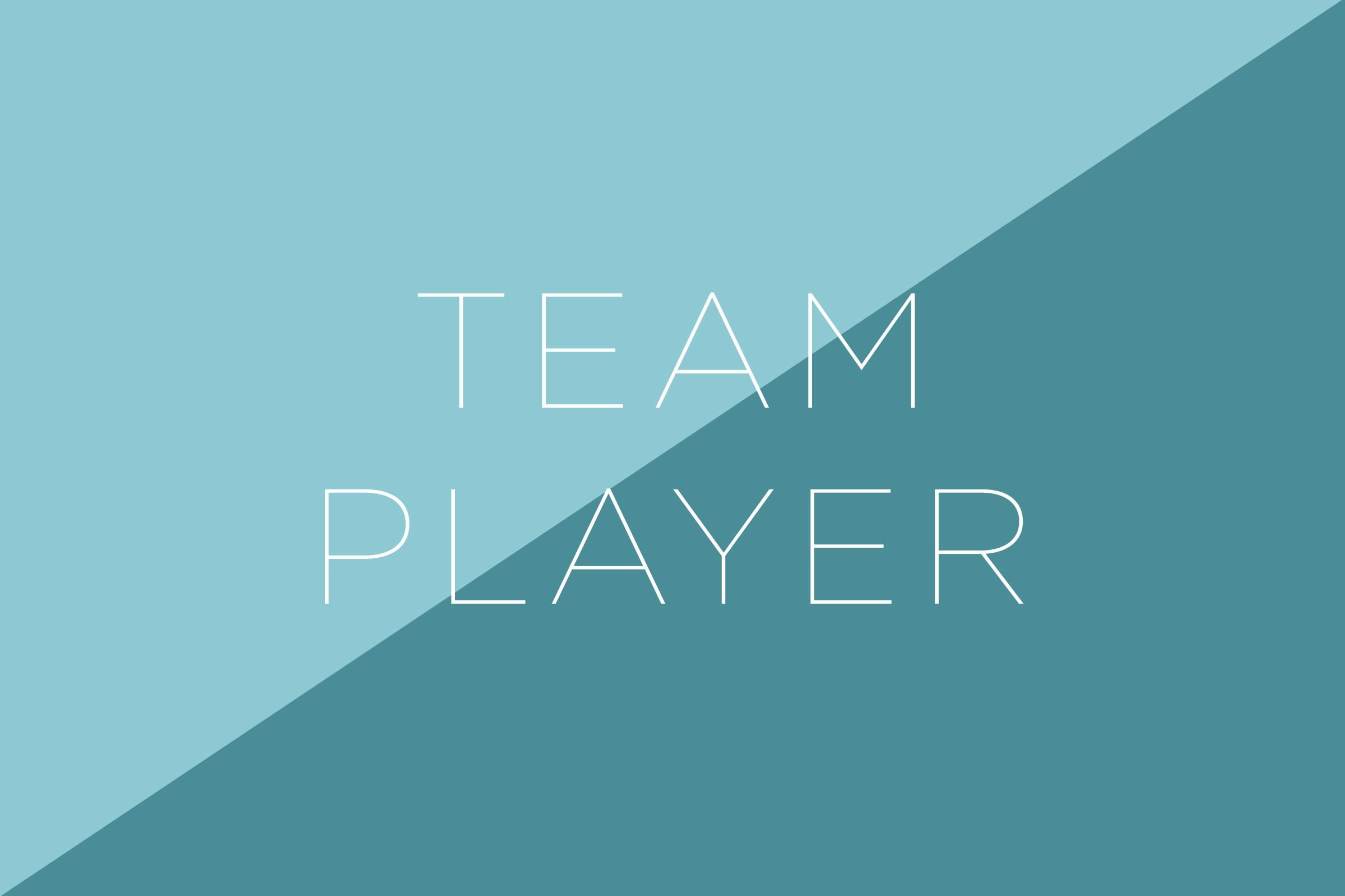 team player cover letter