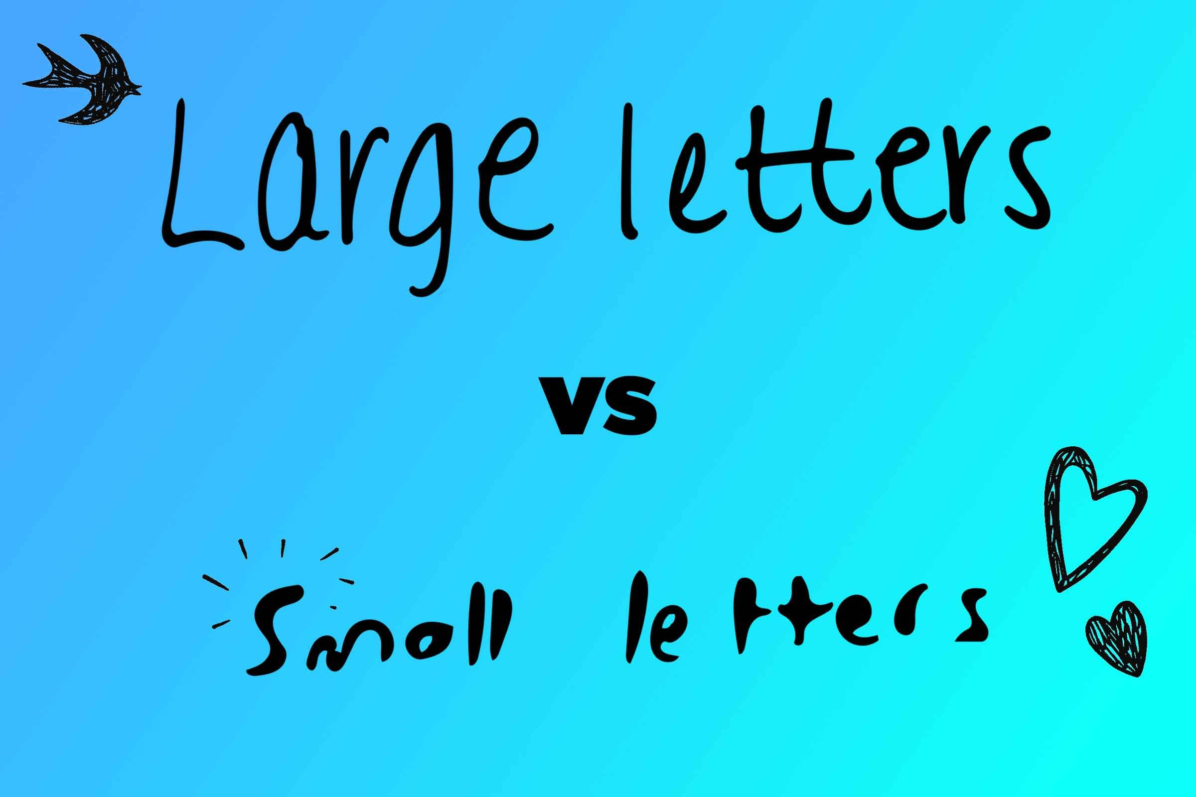 handwriting analysis what handwriting says about you reader s how big or small do you write