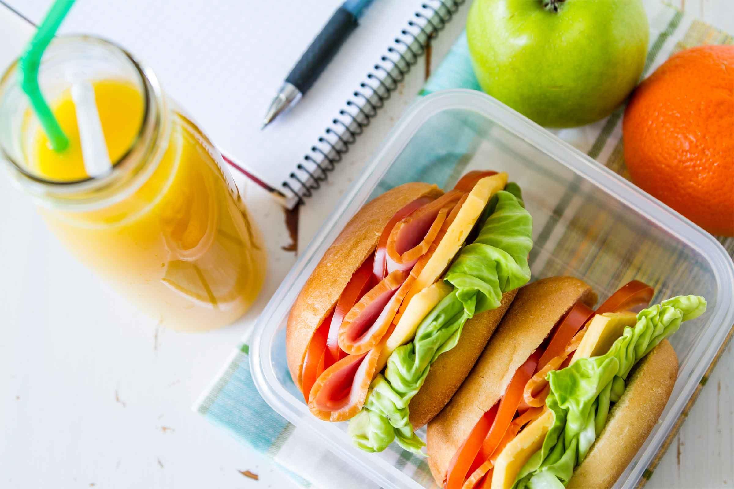 Healthy Outside Food Options