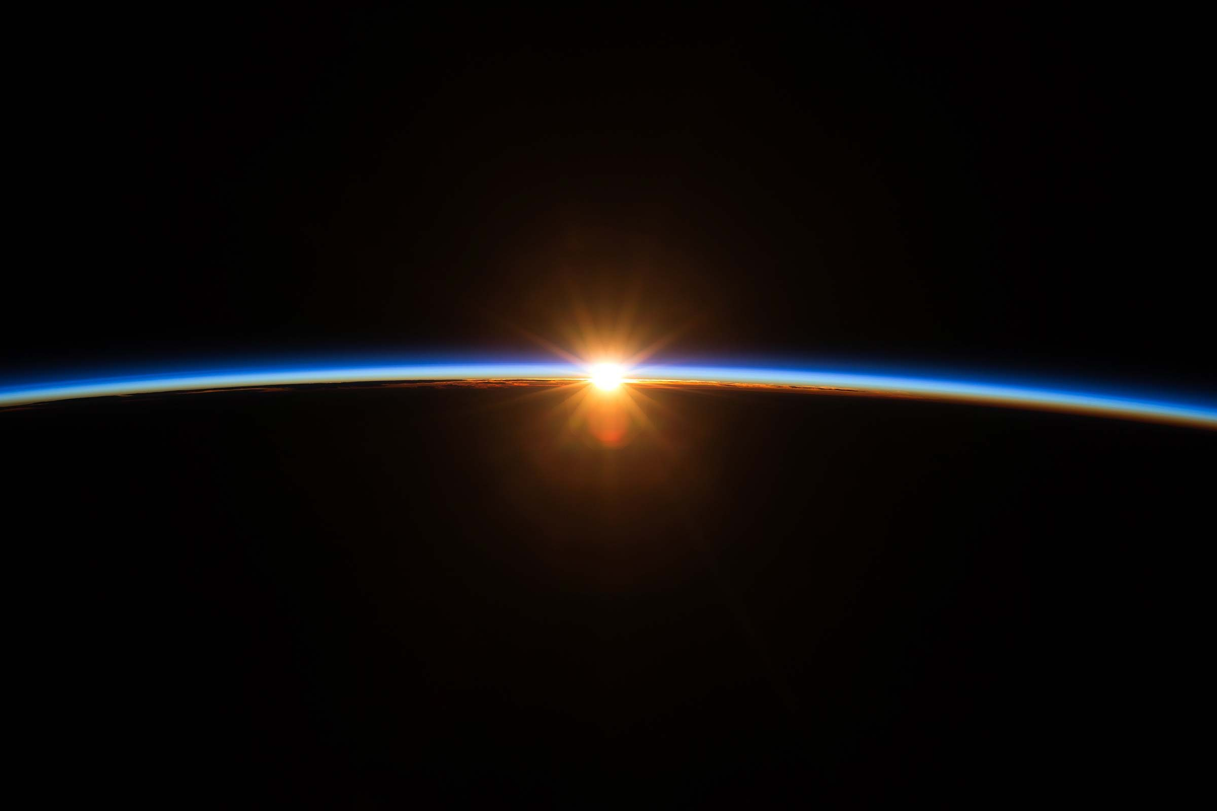 space station sunrise wallpaper - photo #10