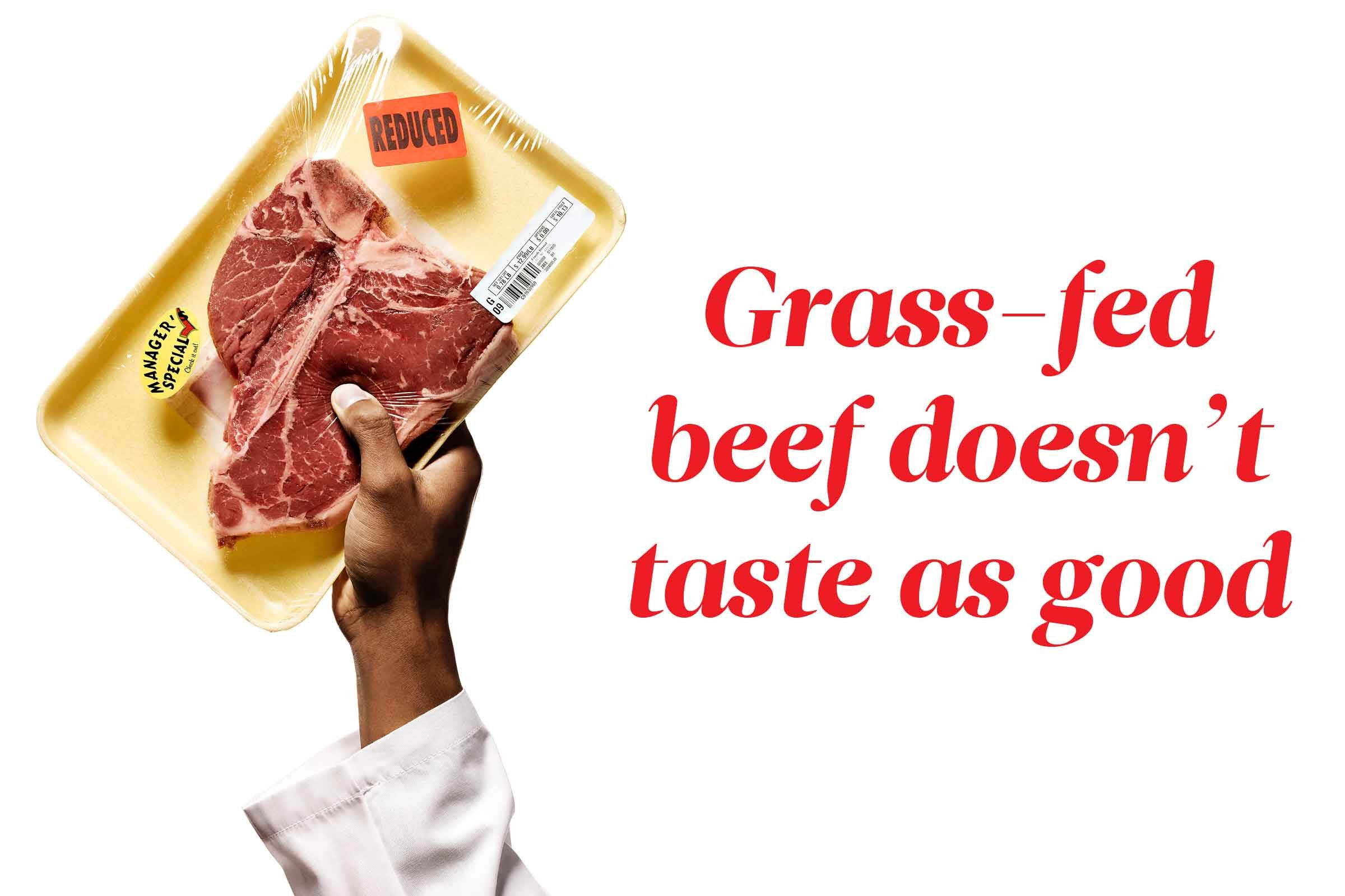 Here's the truth about grass-fed beef: