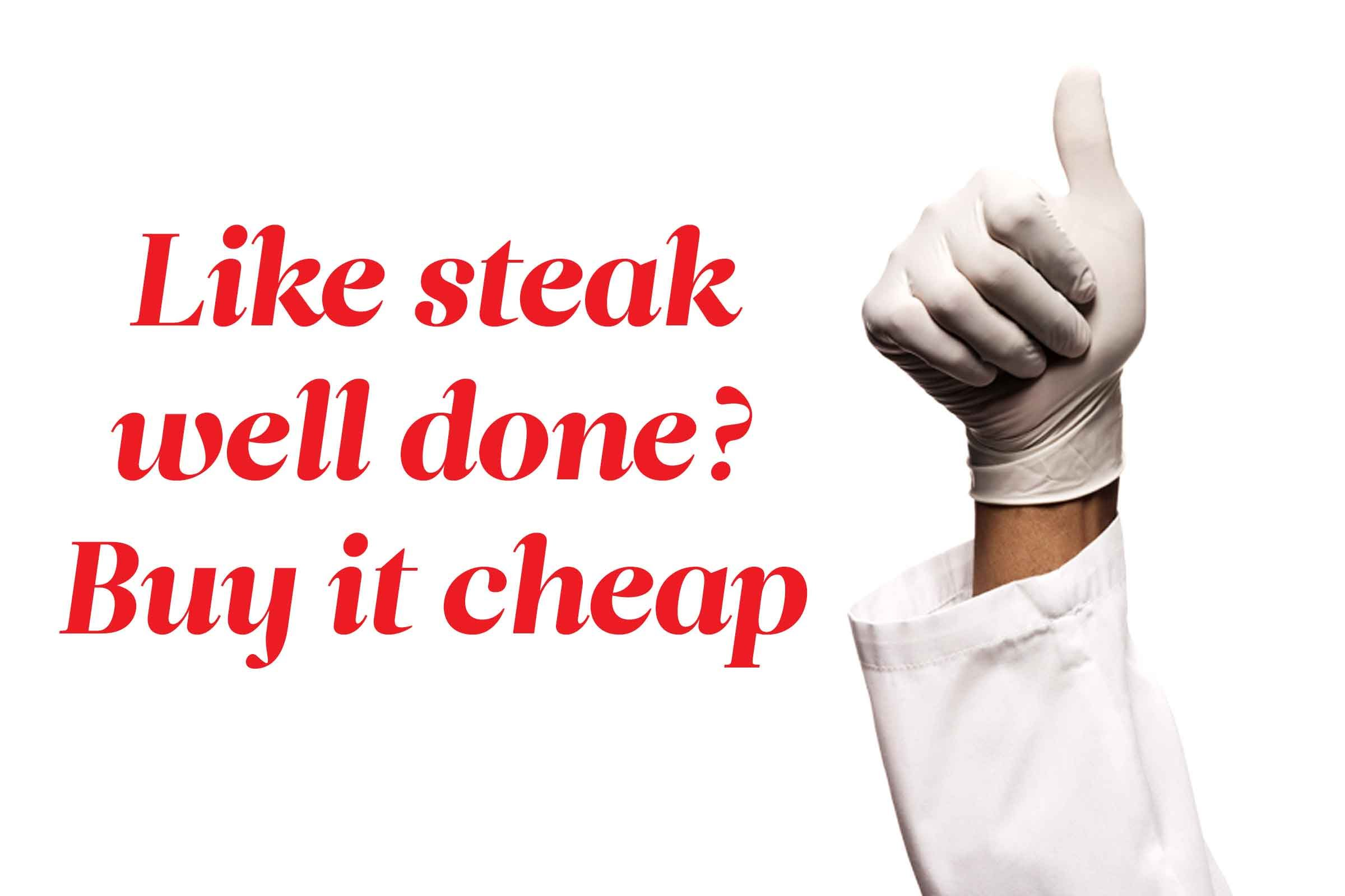 Here's how to save money on steak:
