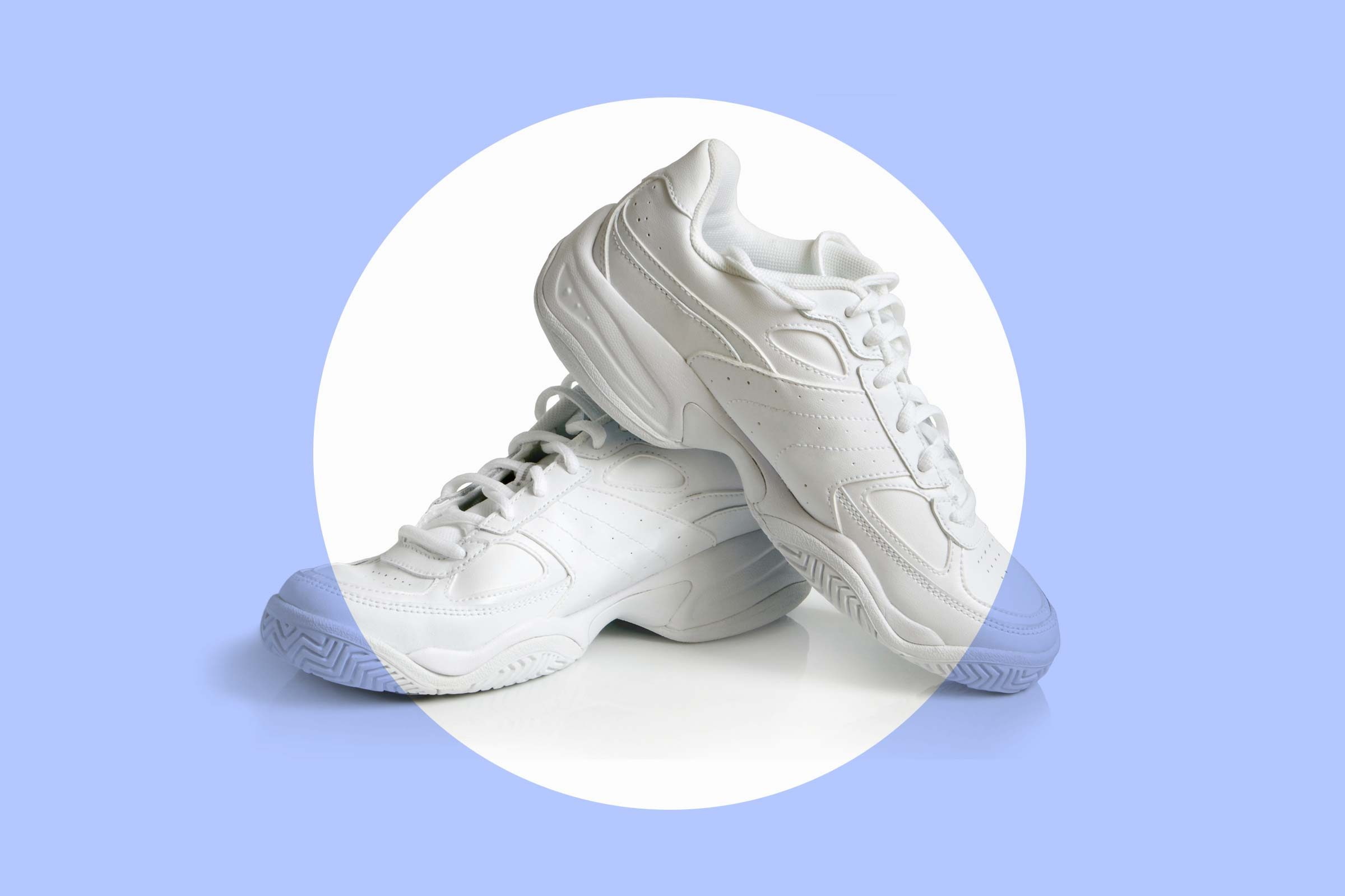 how to clean every kind of shoe in your closet reader s digest white sneakers