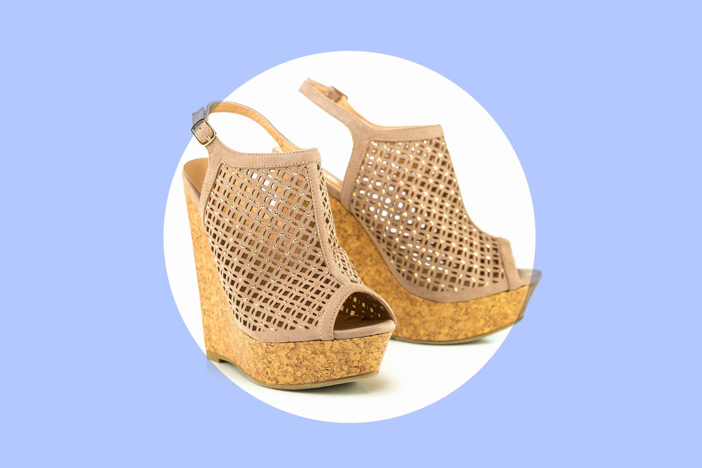 how to clean every kind of shoe in your closet reader s digest cork wedges