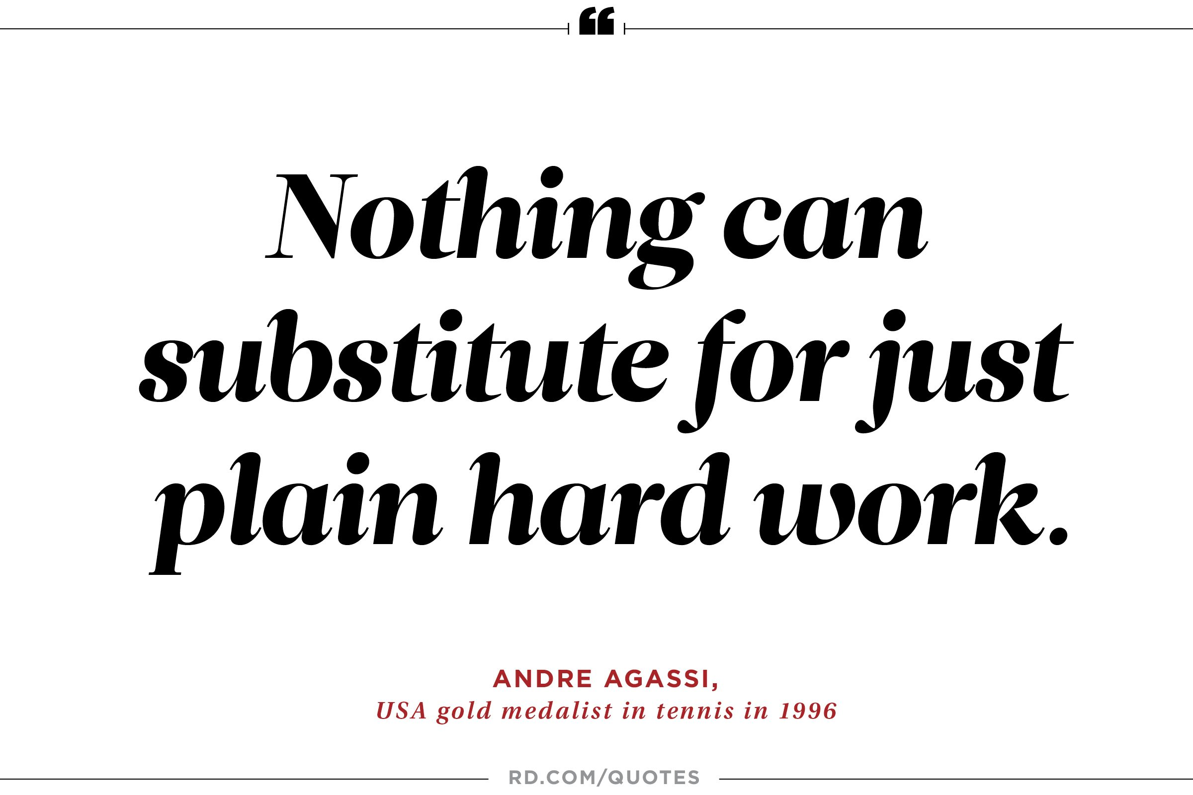 21 motivating quotes from olympic athletes reader s digest andre agassi on the essence of success