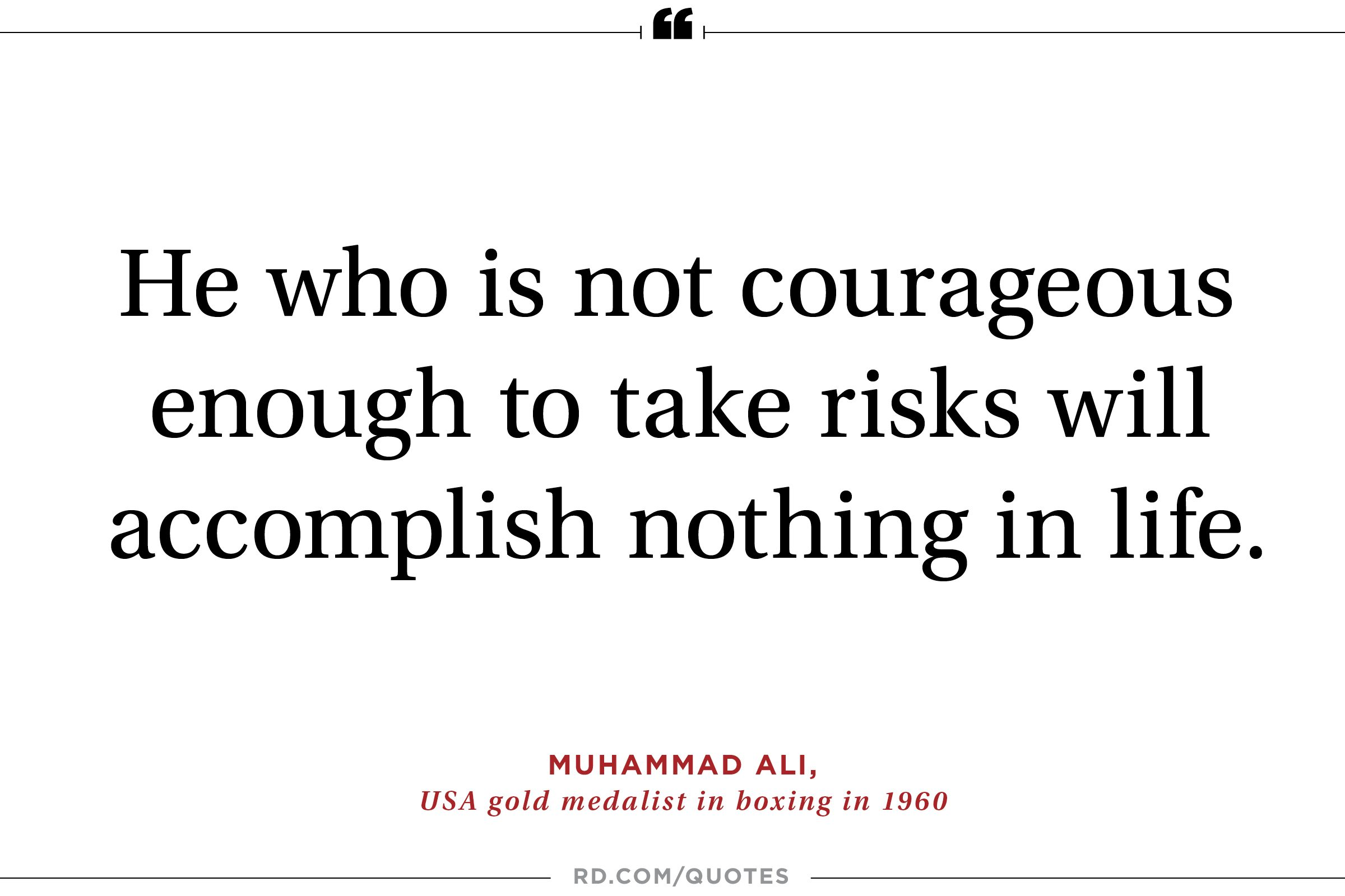 21 motivating quotes from olympic athletes reader s digest muhammad ali on having gritty resolve