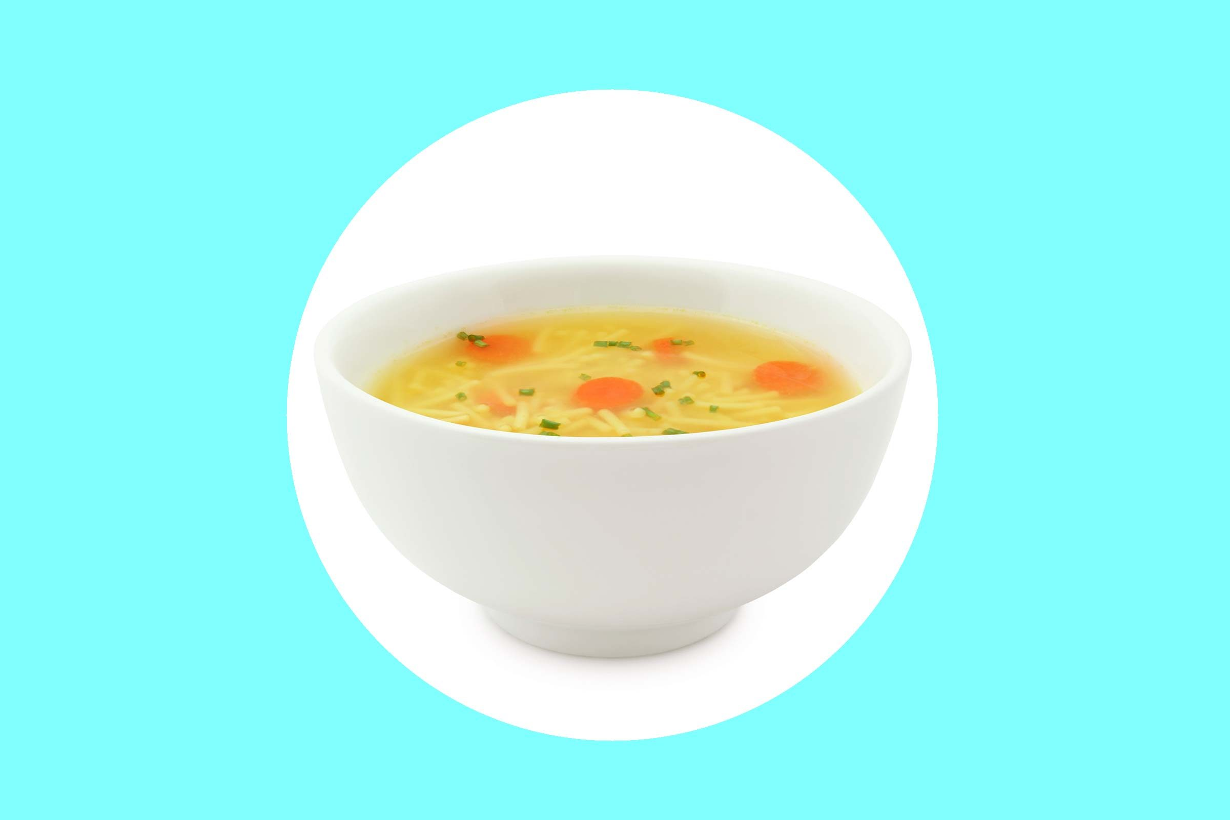 Try: chicken soup