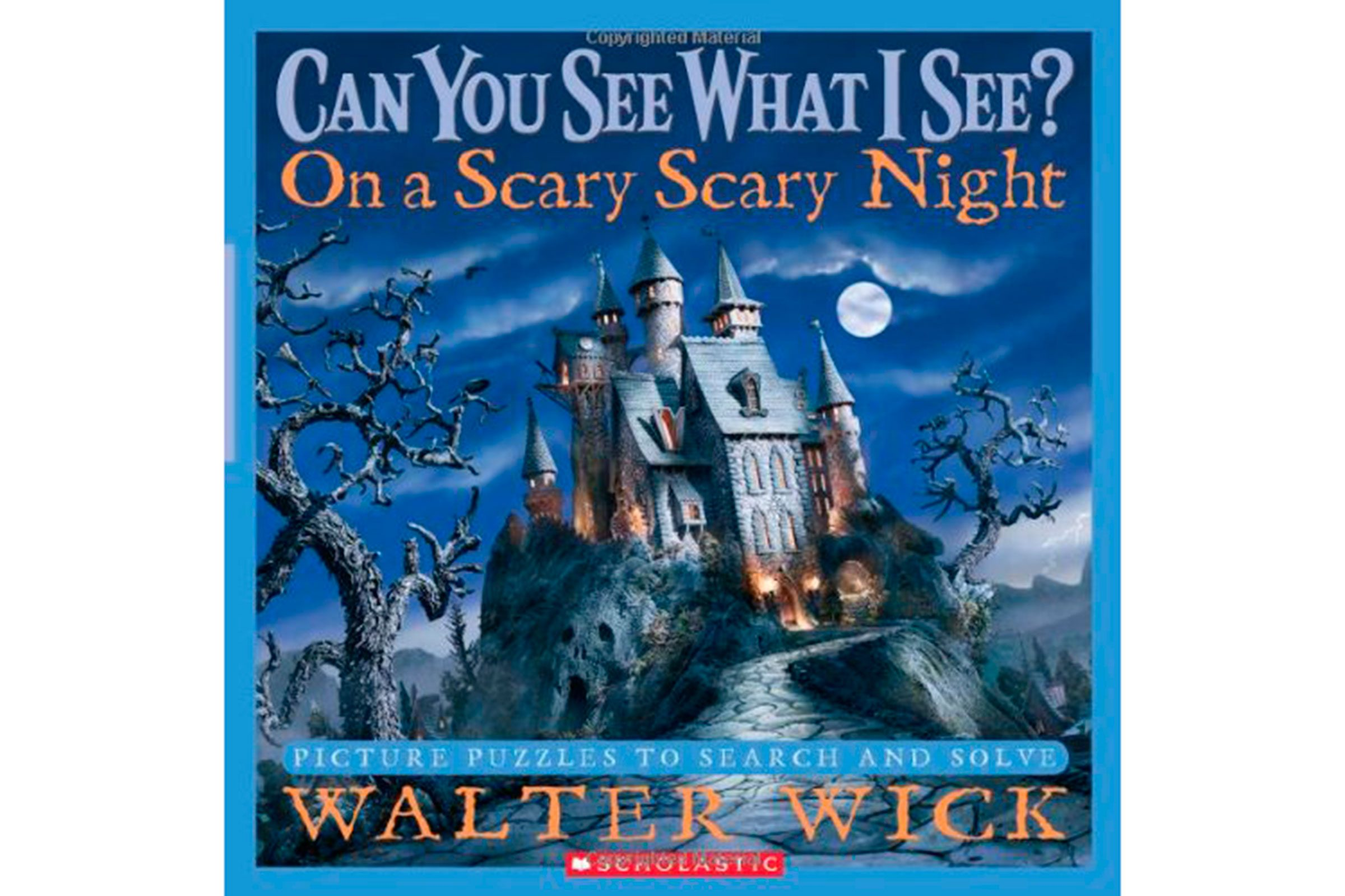 can you see what i see on a scary scary night by walter wick - Halloween Kids Books