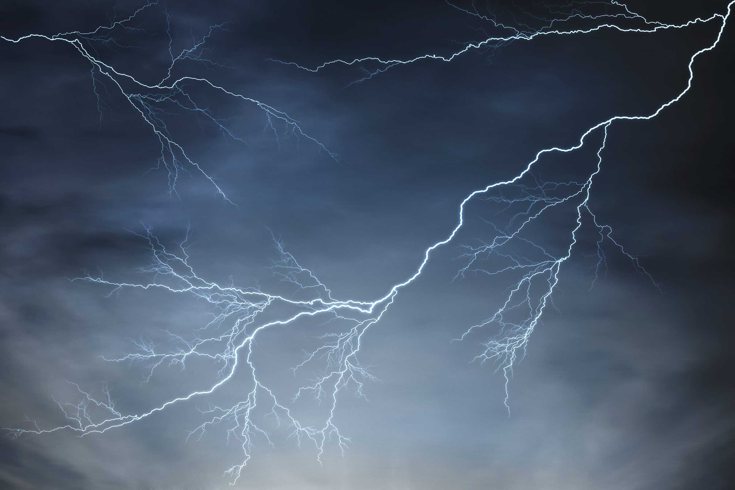 When lightning strikes, watch for...