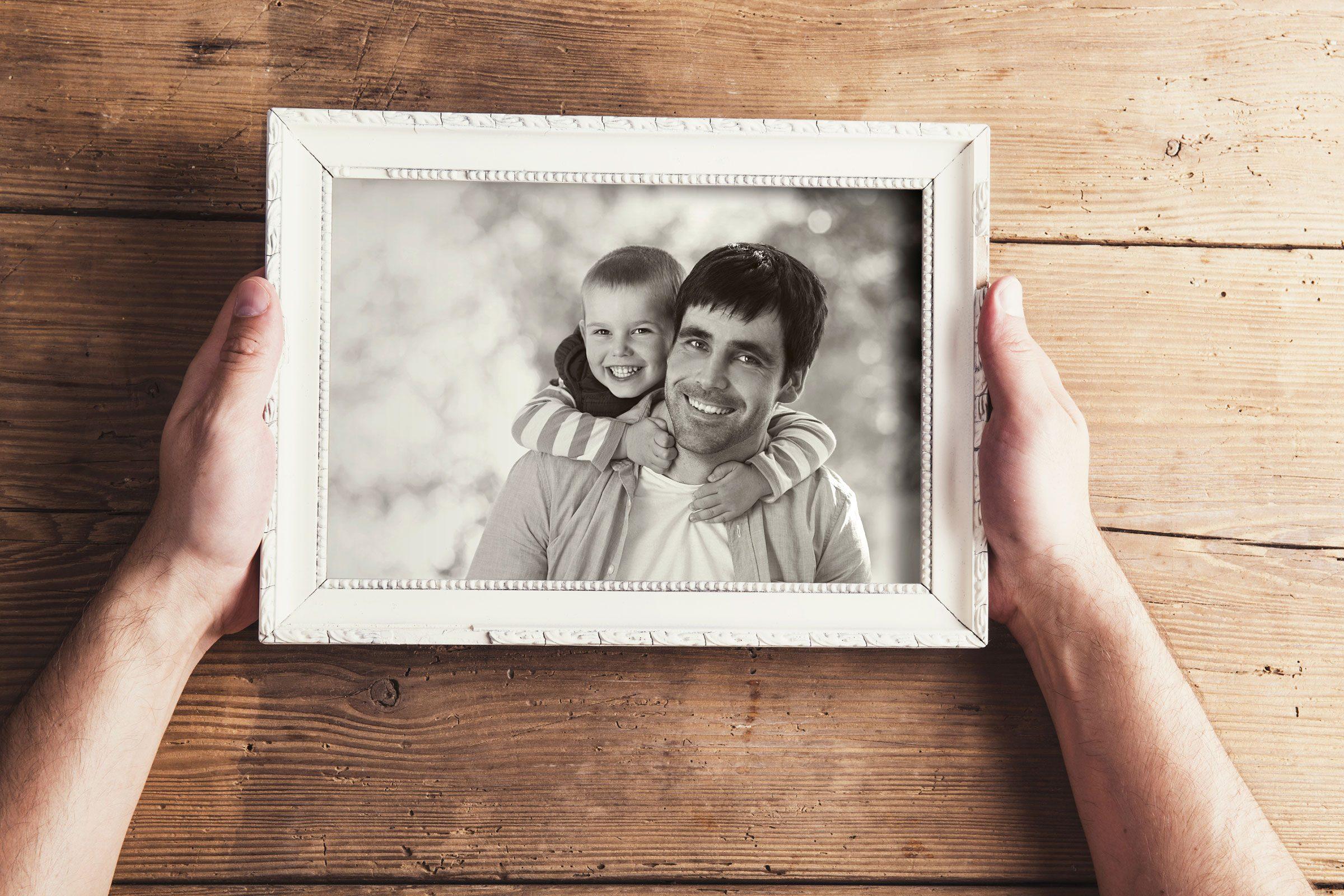 Hang a happy photo
