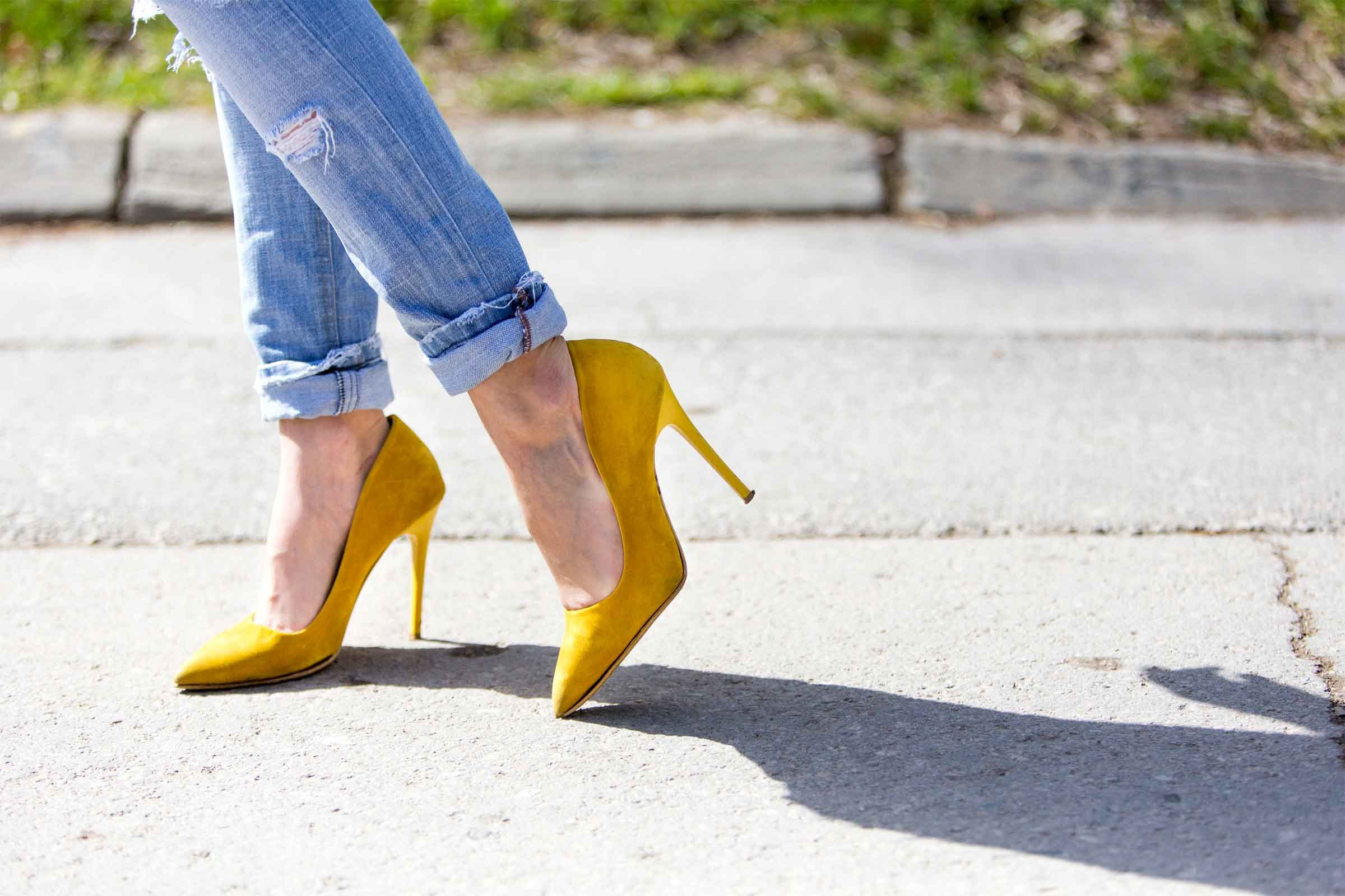 How To Make Shoes Into High Heels
