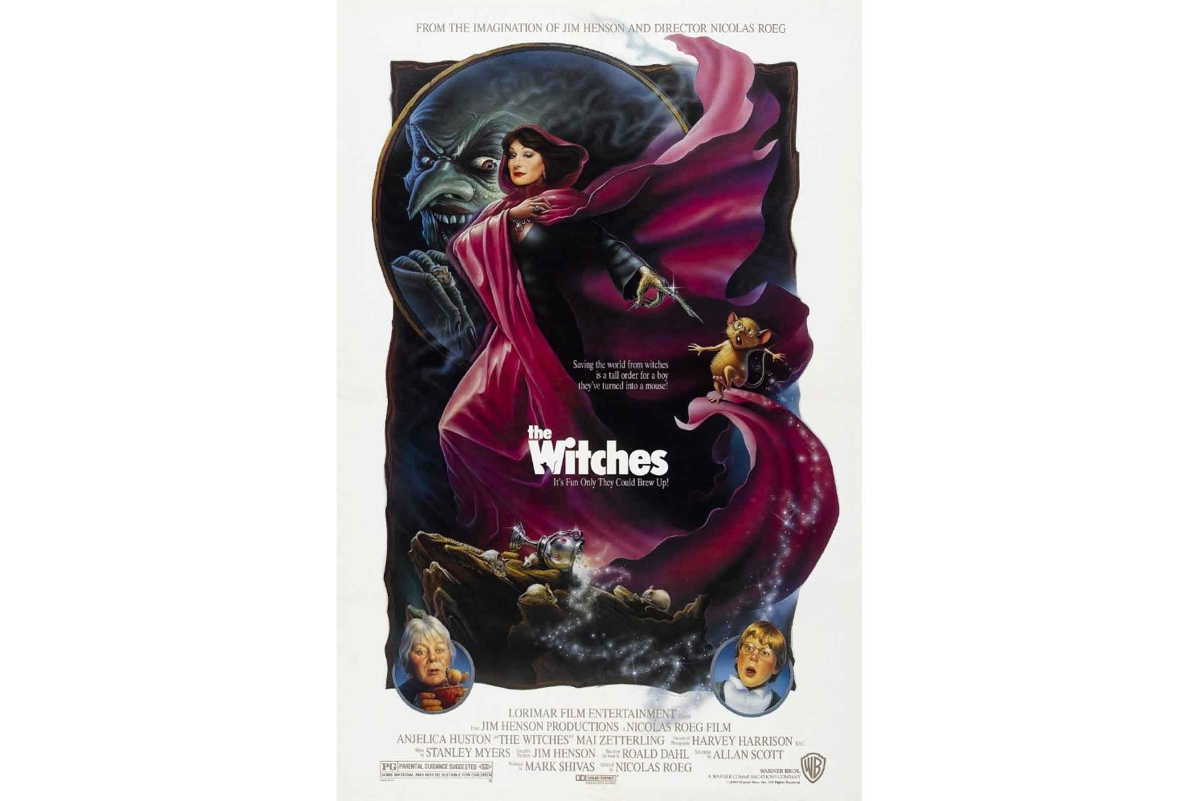 the witches pg - Halloween Movies Rated Pg