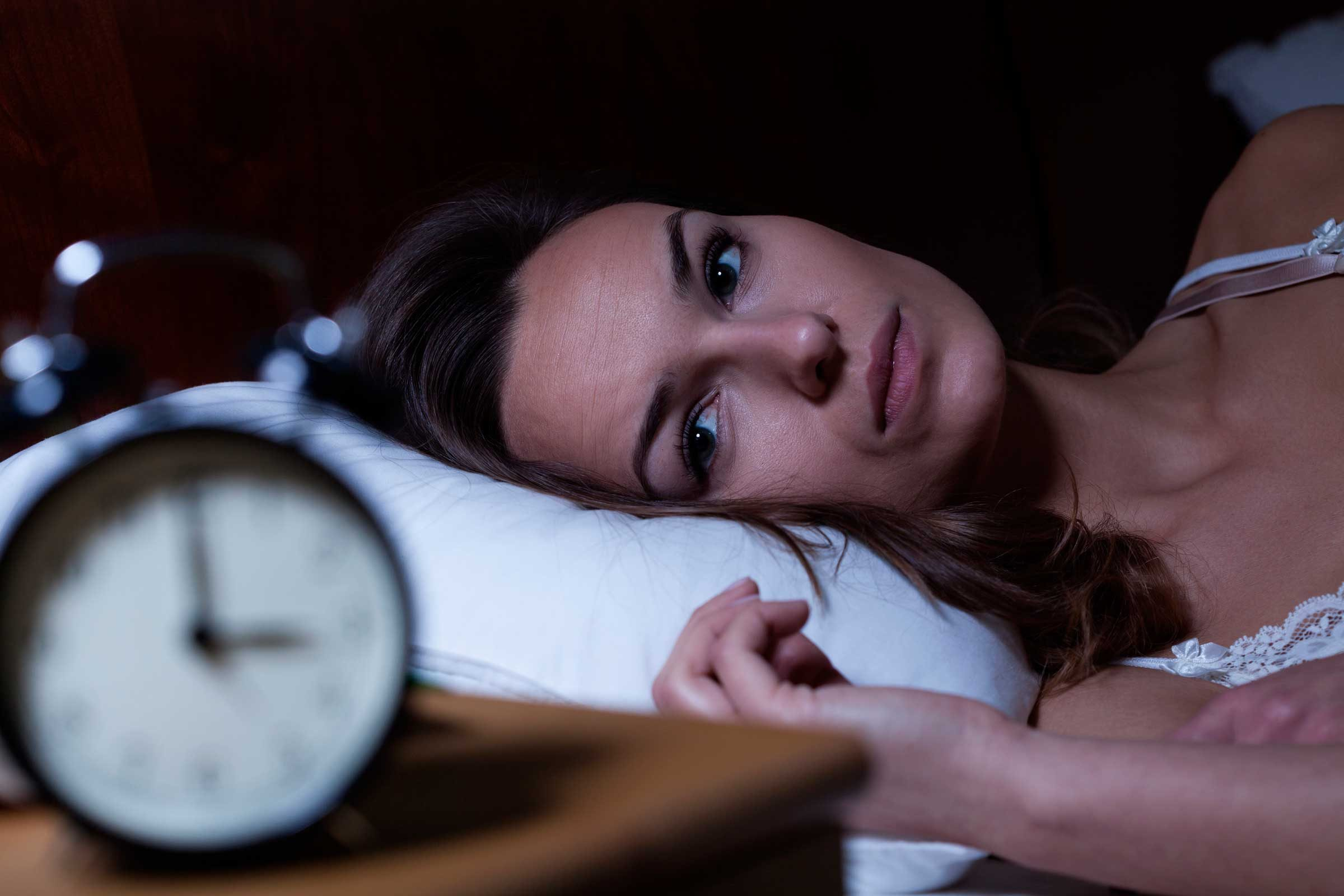 What is menstrual insomnia?