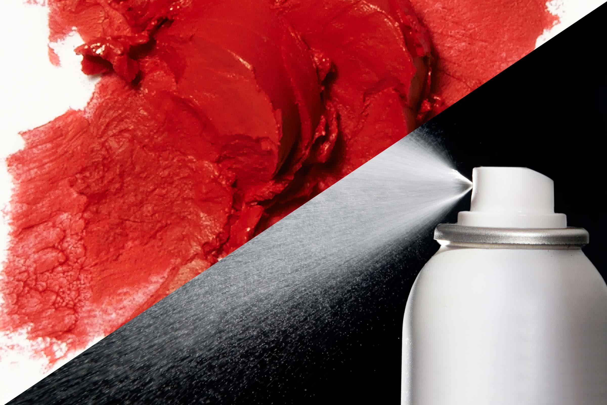 Remove lipstick from fabric