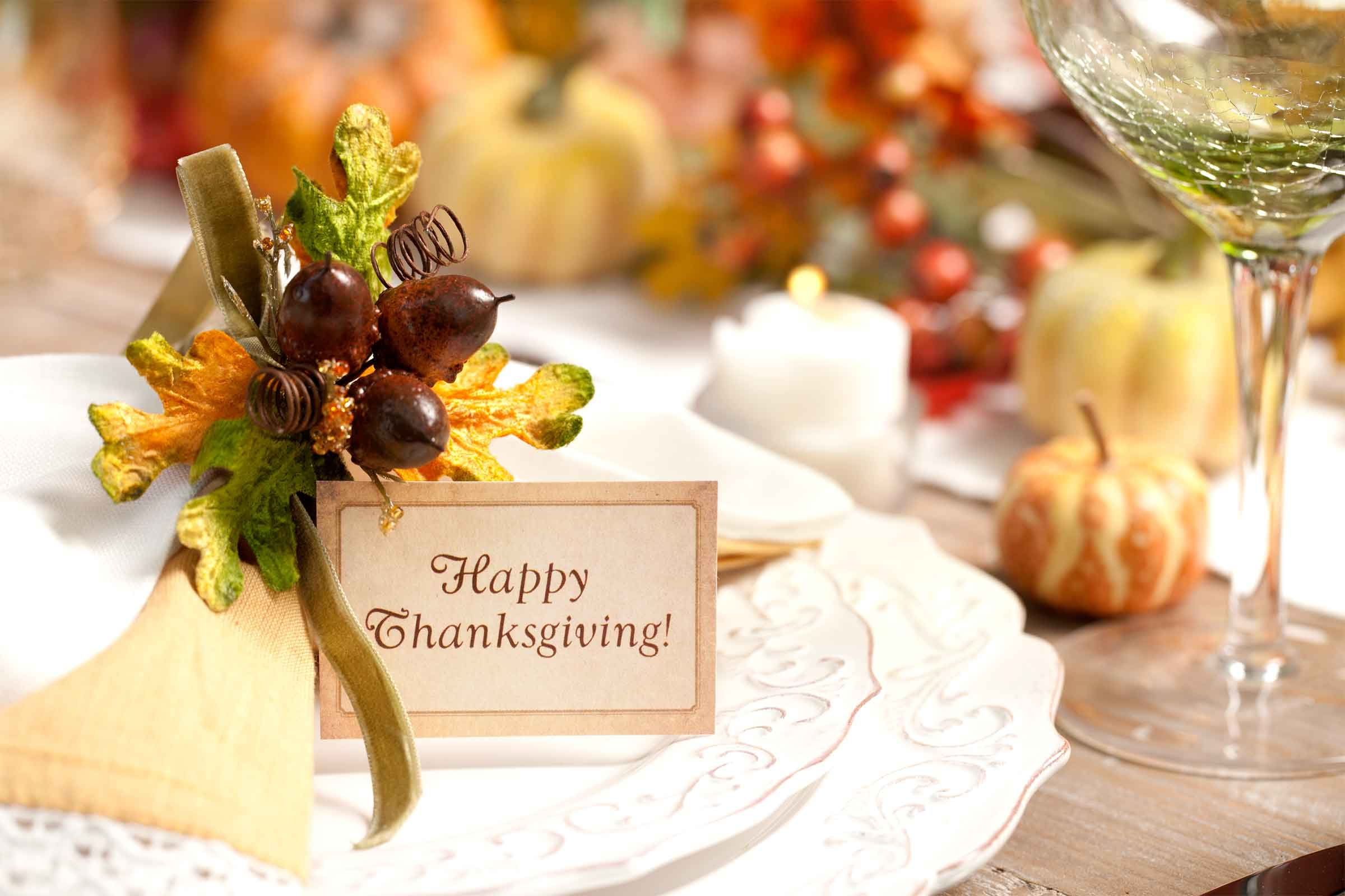 Thanksgiving Table Setting Tips For Hosts Reader 39 S Digest