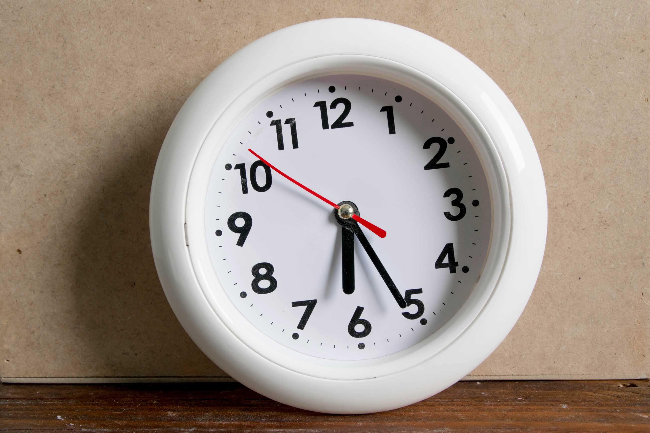 Make a sleep schedule